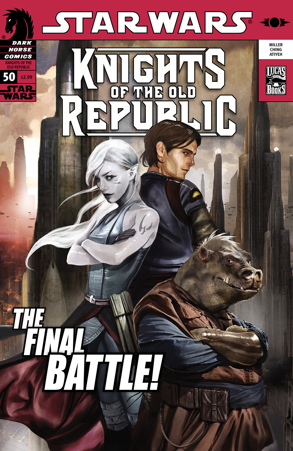 Star Wars: Knights Of The Old Republic 50 Page 1