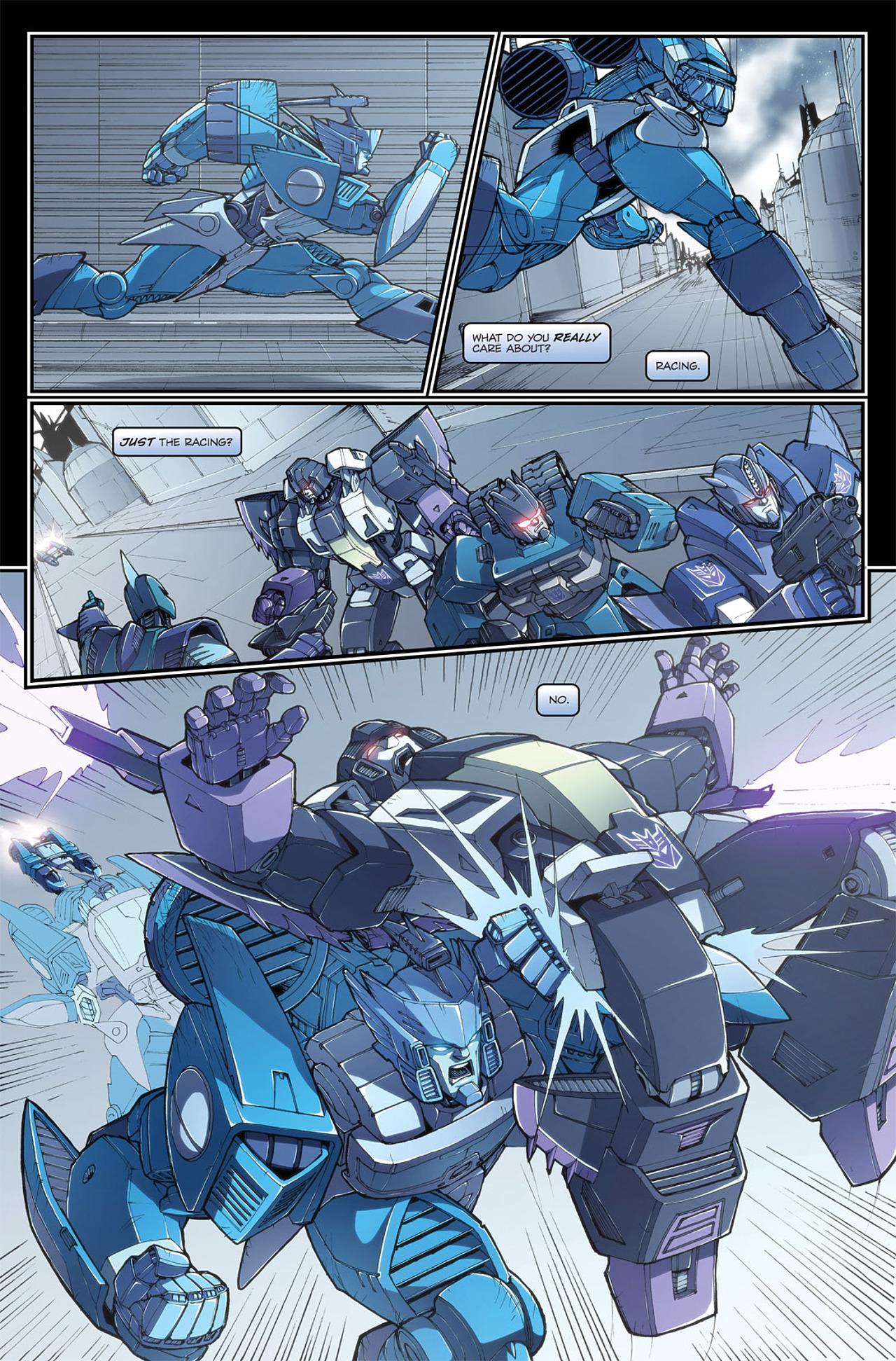 Read online Transformers Spotlight: Blurr comic -  Issue # Full - 24
