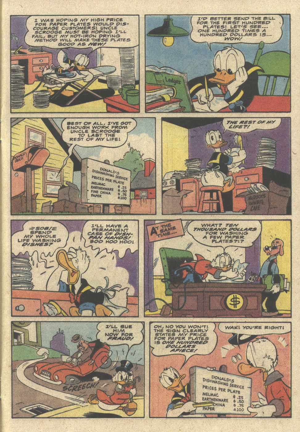 Read online Uncle Scrooge (1953) comic -  Issue #240 - 33