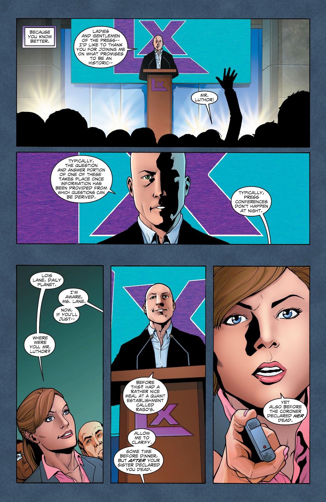 Read online Smallville Season 11 [II] comic -  Issue # TPB 1 - 45