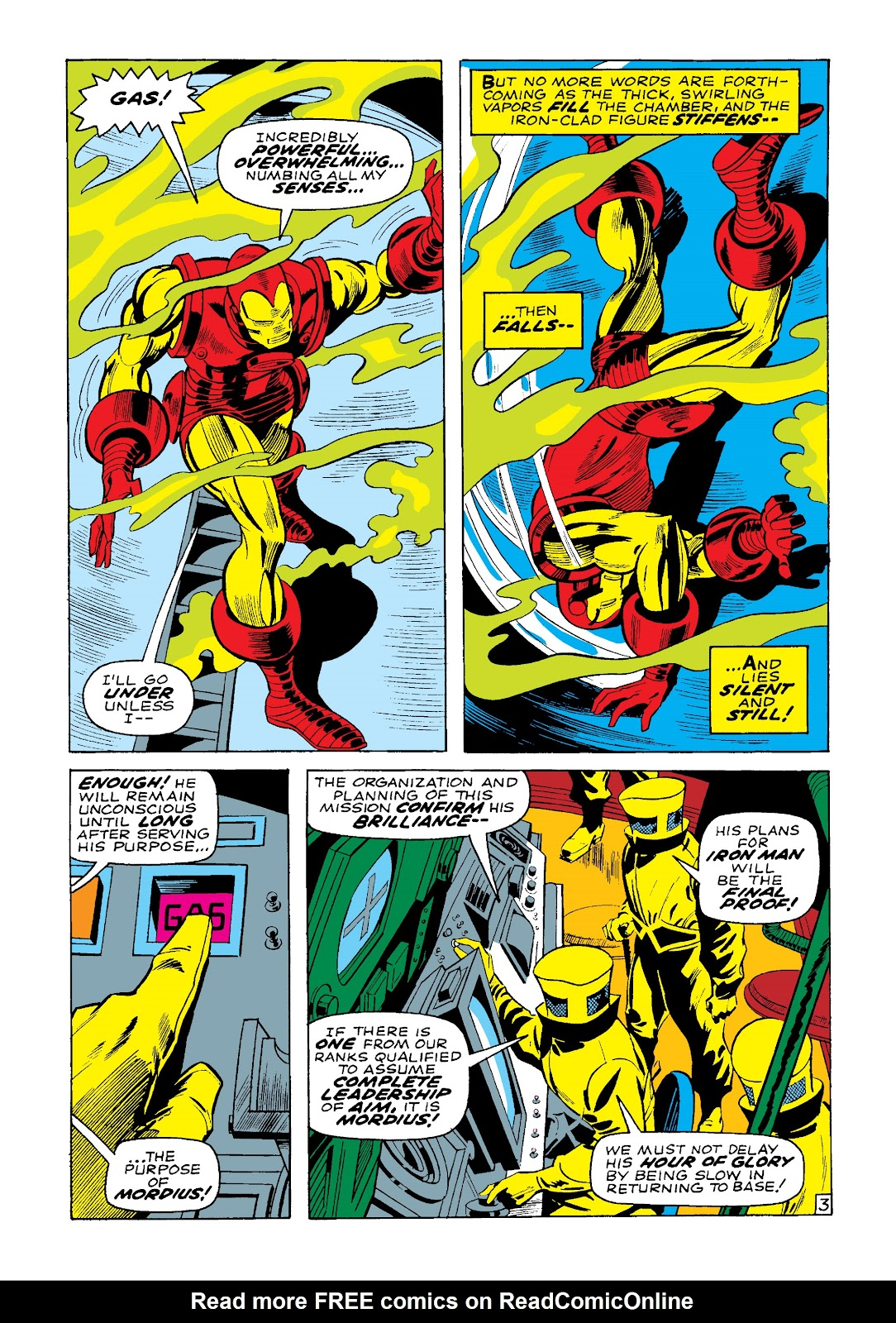 Read online Marvel Masterworks: The Invincible Iron Man comic -  Issue # TPB 4 (Part 3) - 27