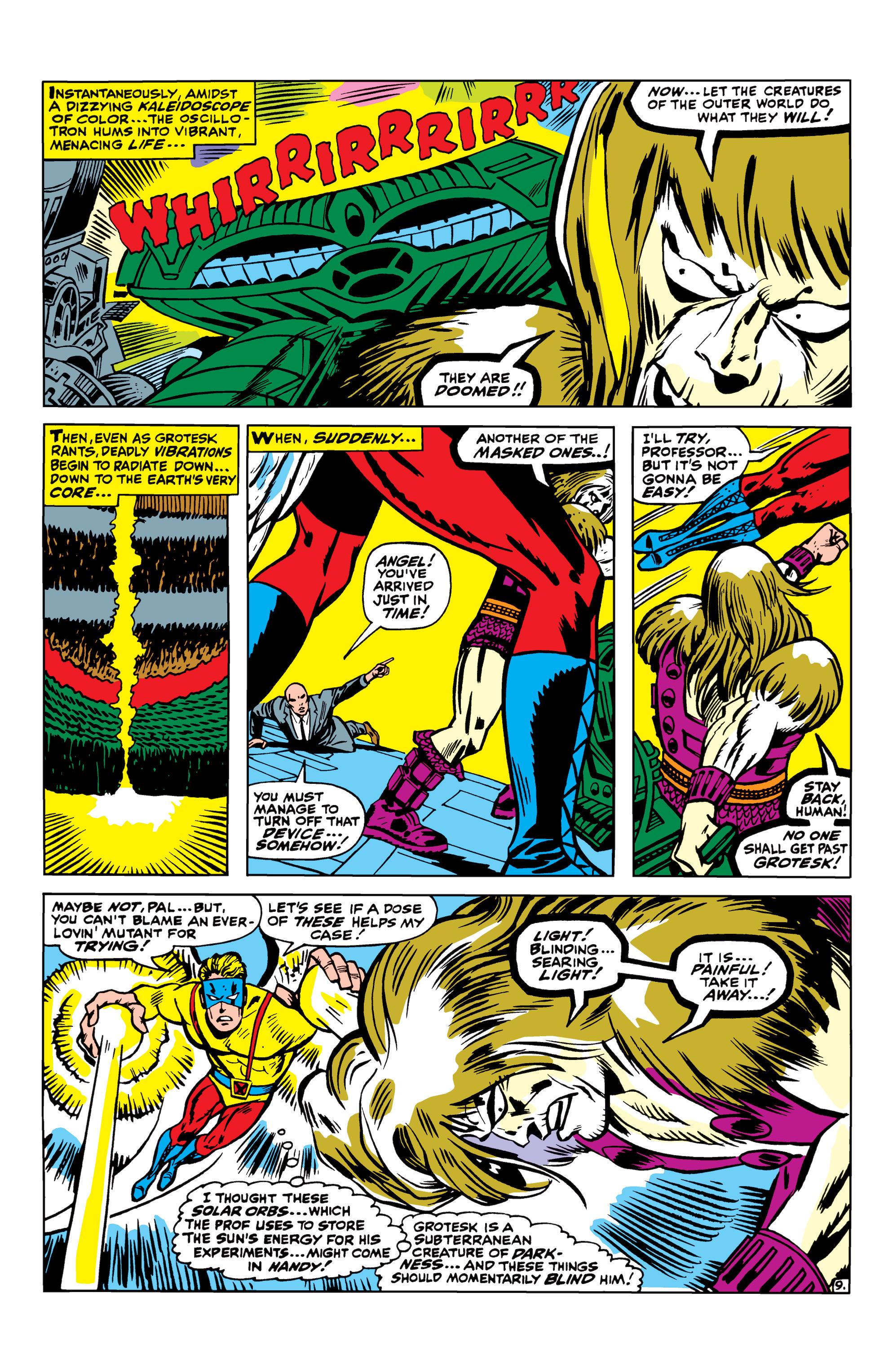 Read online Uncanny X-Men (1963) comic -  Issue #42 - 10