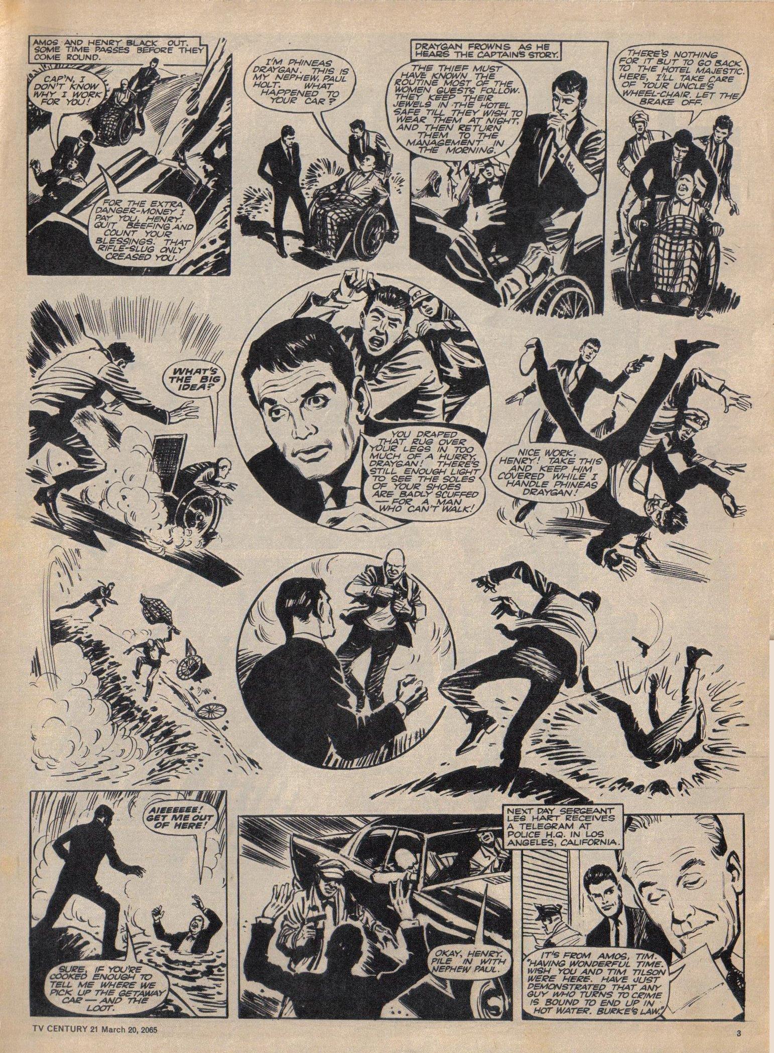 Read online TV Century 21 (TV 21) comic -  Issue #9 - 4