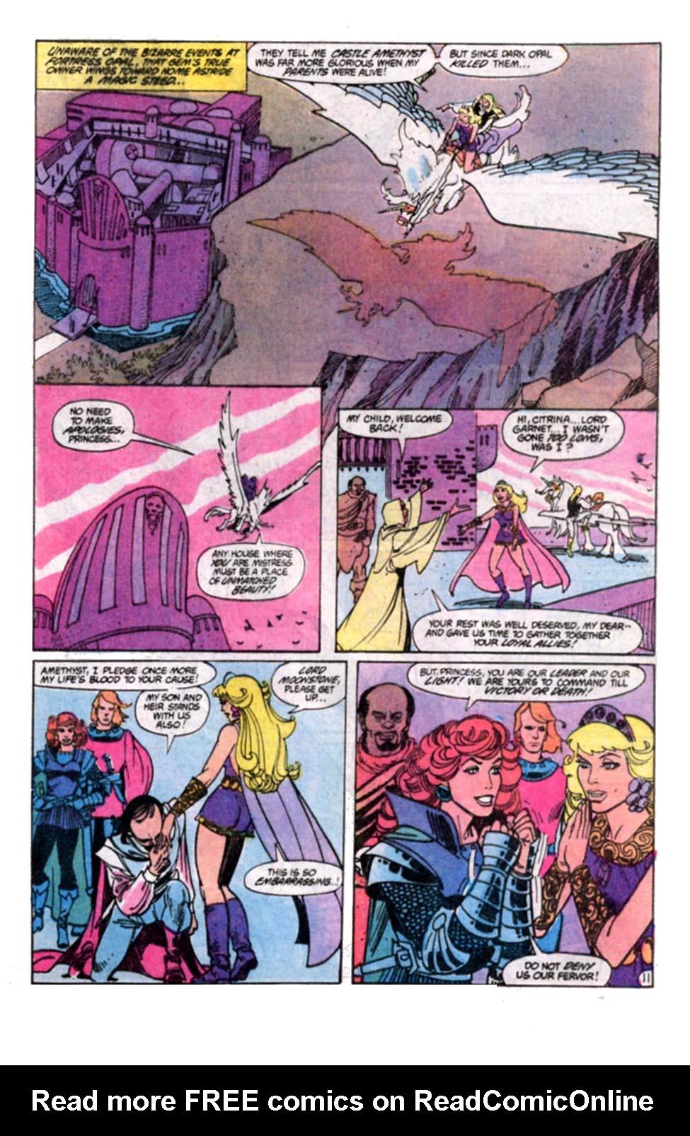 Read online Amethyst, Princess of Gemworld comic -  Issue #8 - 12