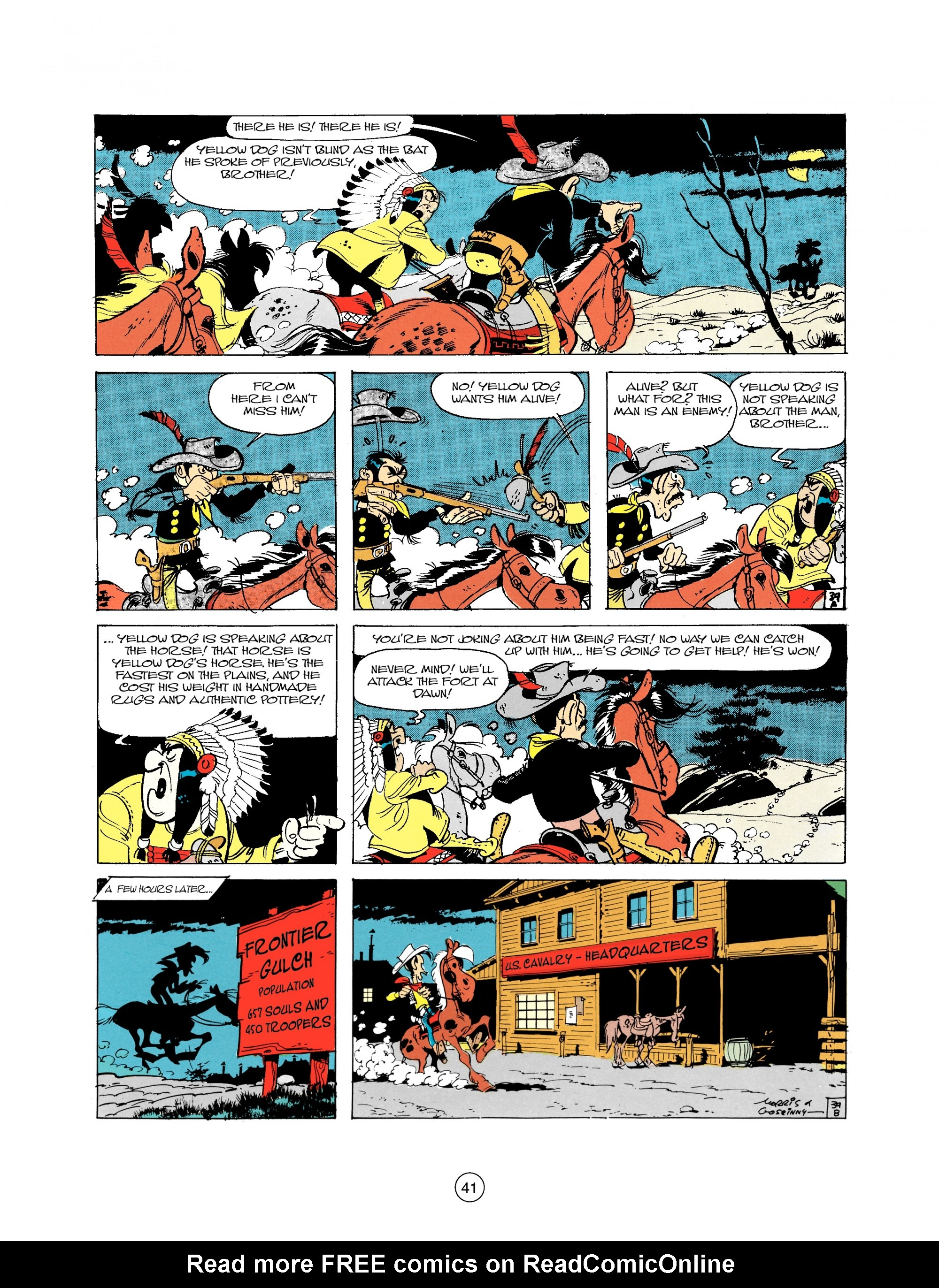 Read online A Lucky Luke Adventure comic -  Issue #21 - 41