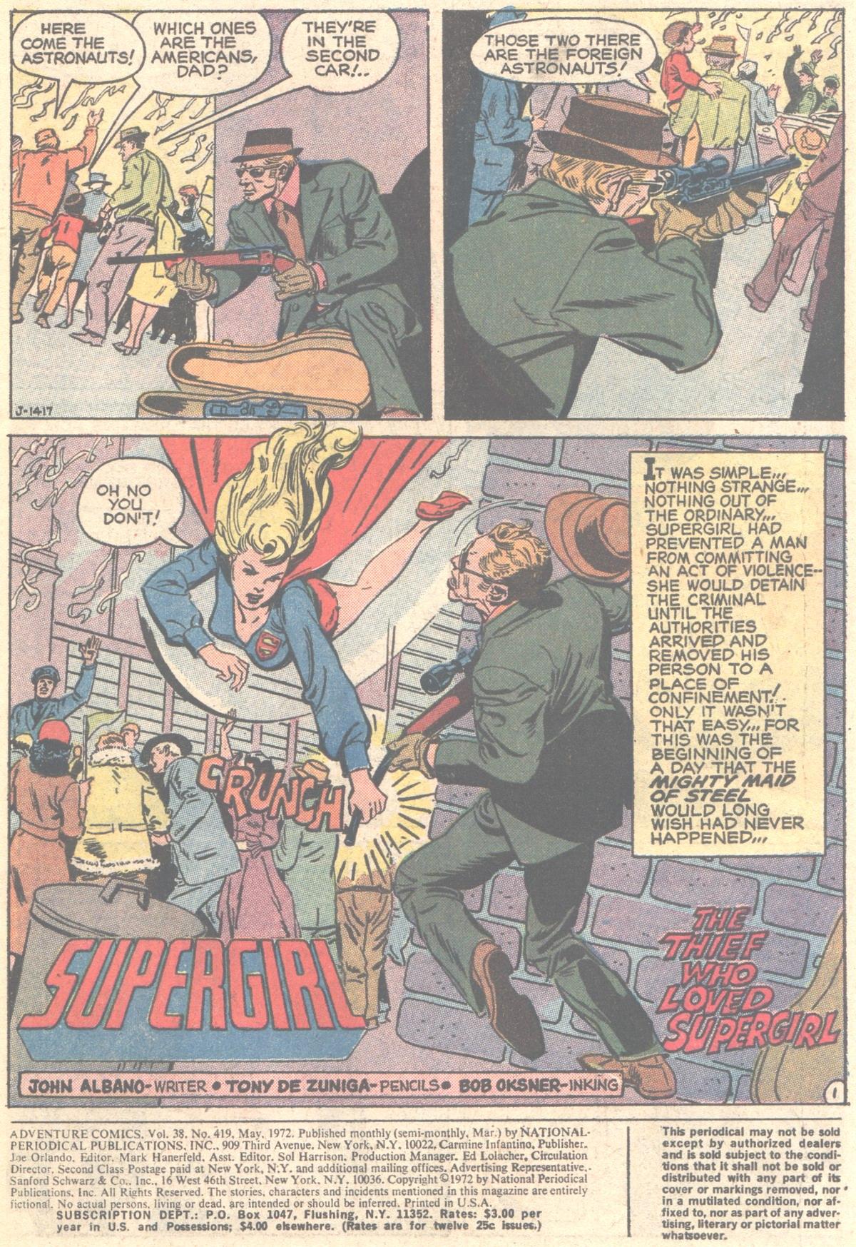 Read online Adventure Comics (1938) comic -  Issue #419 - 3