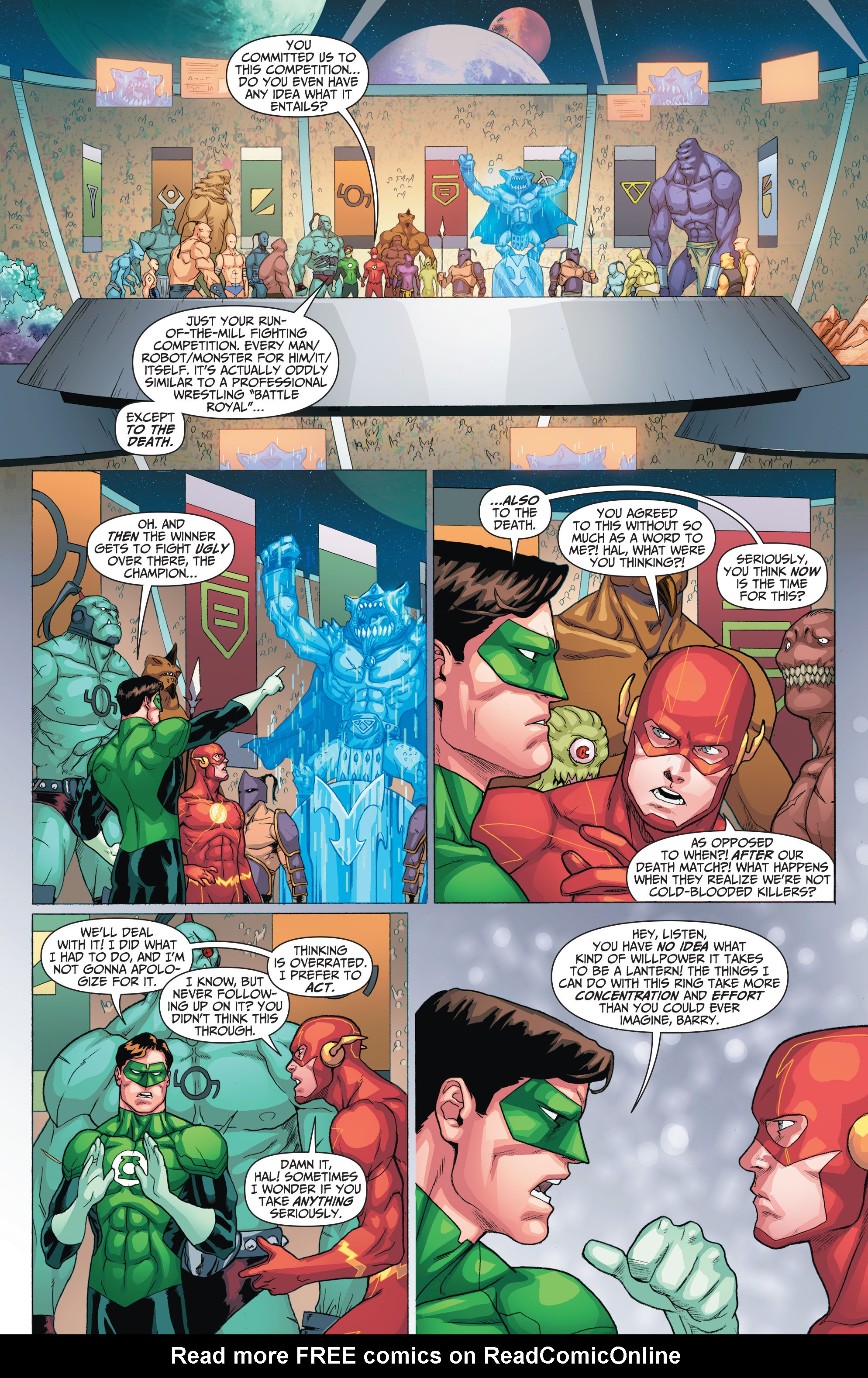 Read online The Flash (2011) comic -  Issue # _TPB 5 - 23