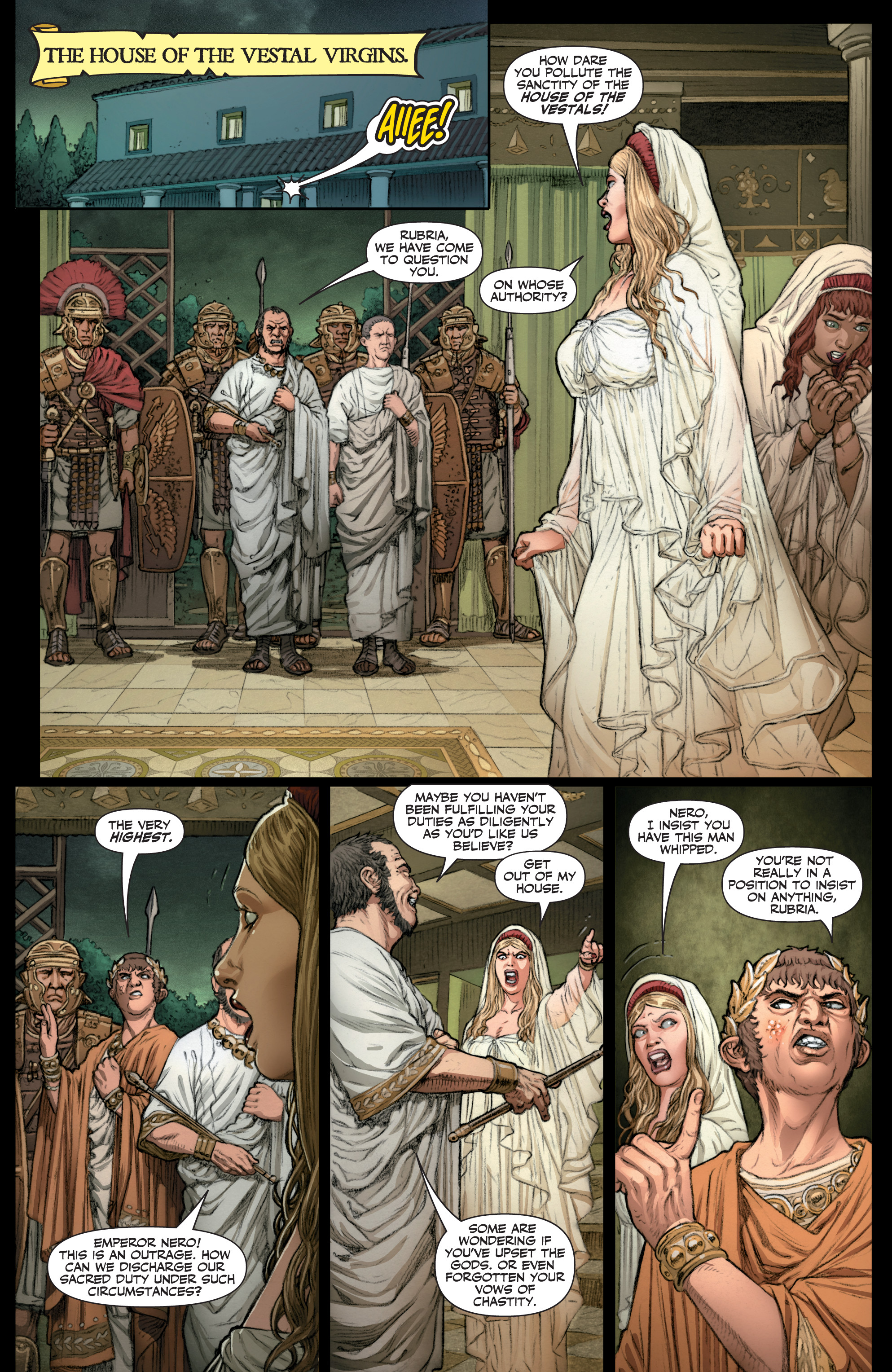 Read online Britannia: We Who Are About To Die comic -  Issue #1 - 14