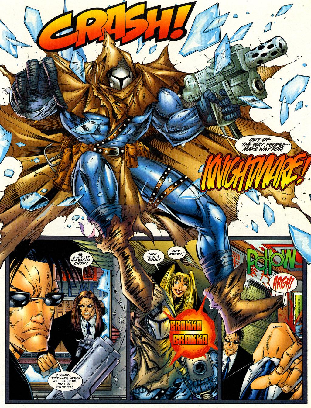 Read online Avengelyne (1996) comic -  Issue #6 - 9