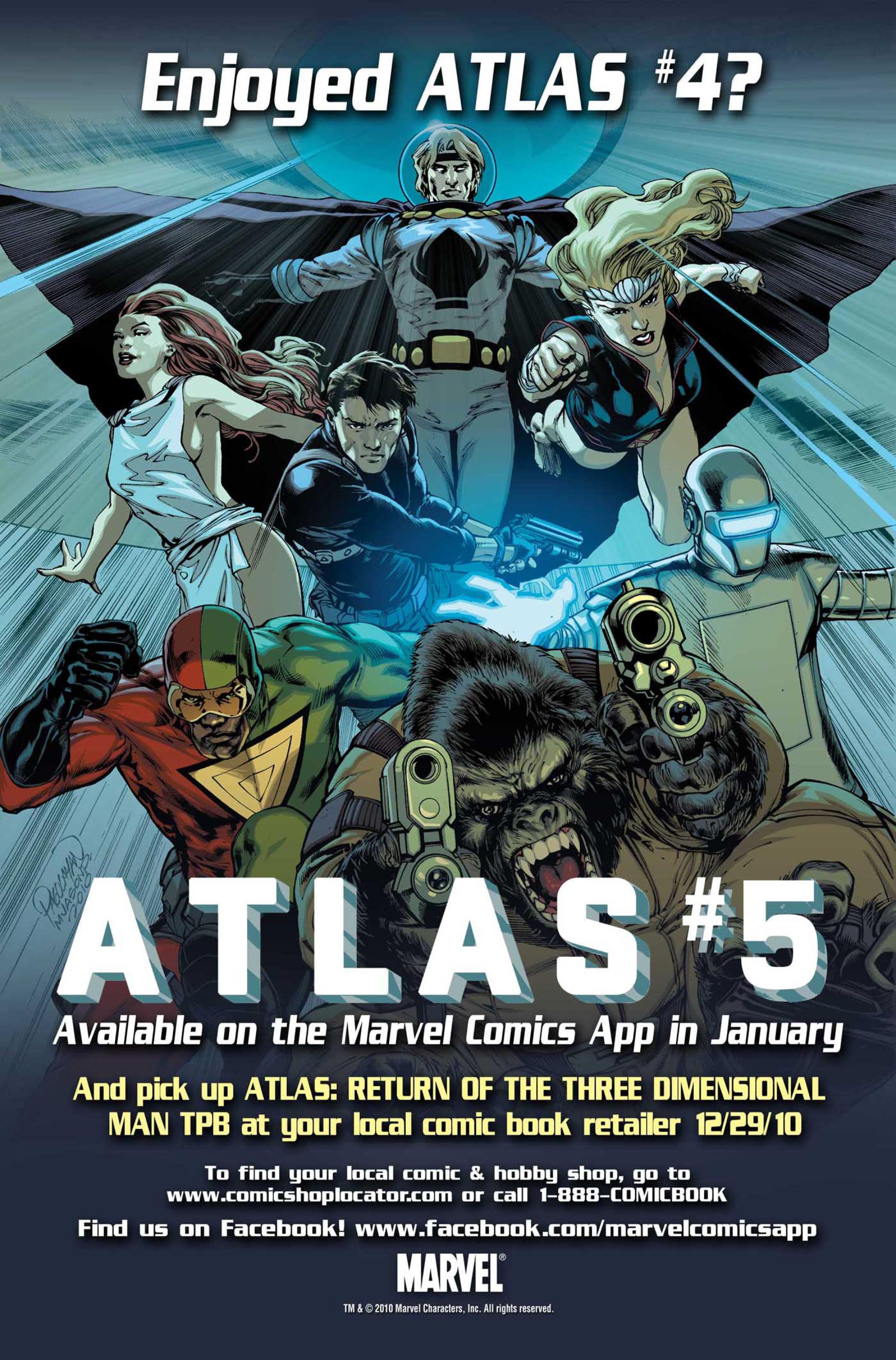 Read online Atlas comic -  Issue #4 - 26