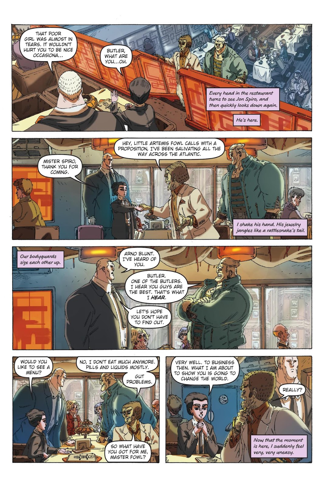 Artemis Fowl: The Eternity Code issue TPB - Page 10