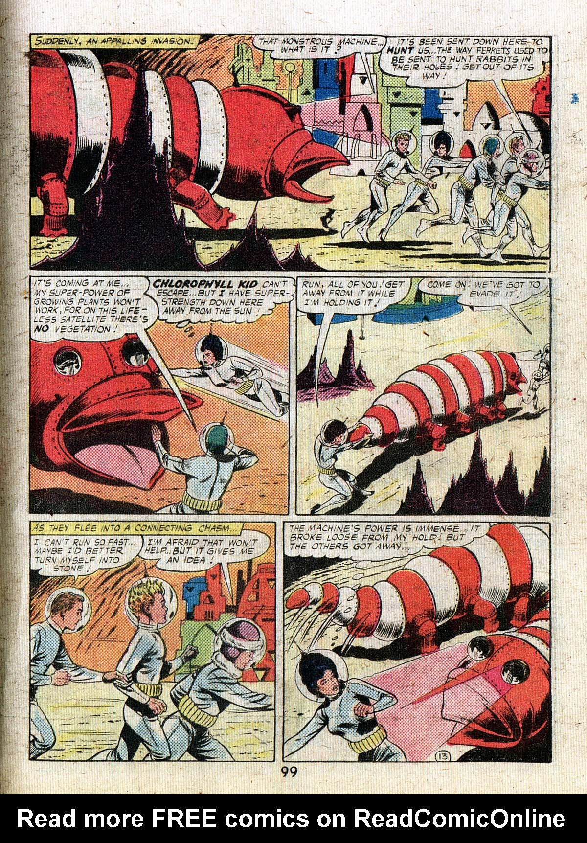 Read online Adventure Comics (1938) comic -  Issue #500 - 99