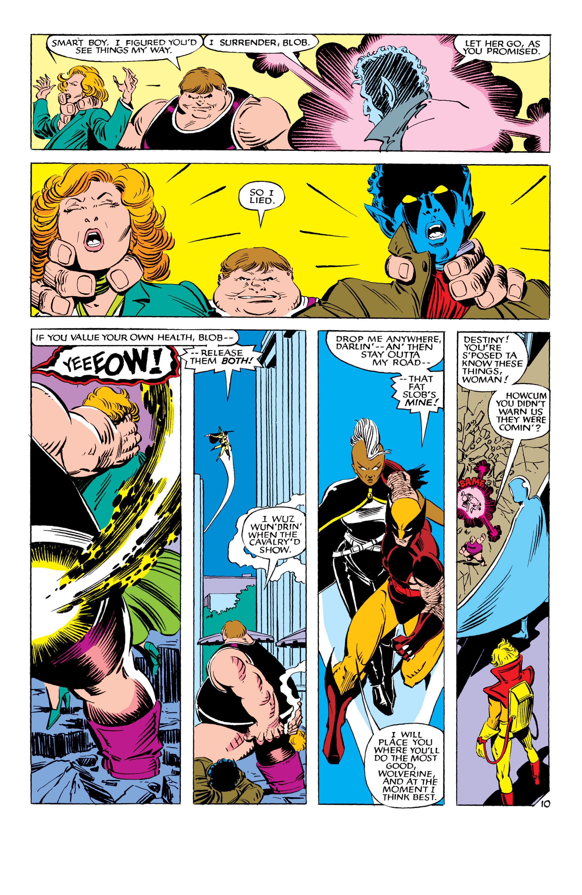 Read online Uncanny X-Men (1963) comic -  Issue #178 - 11