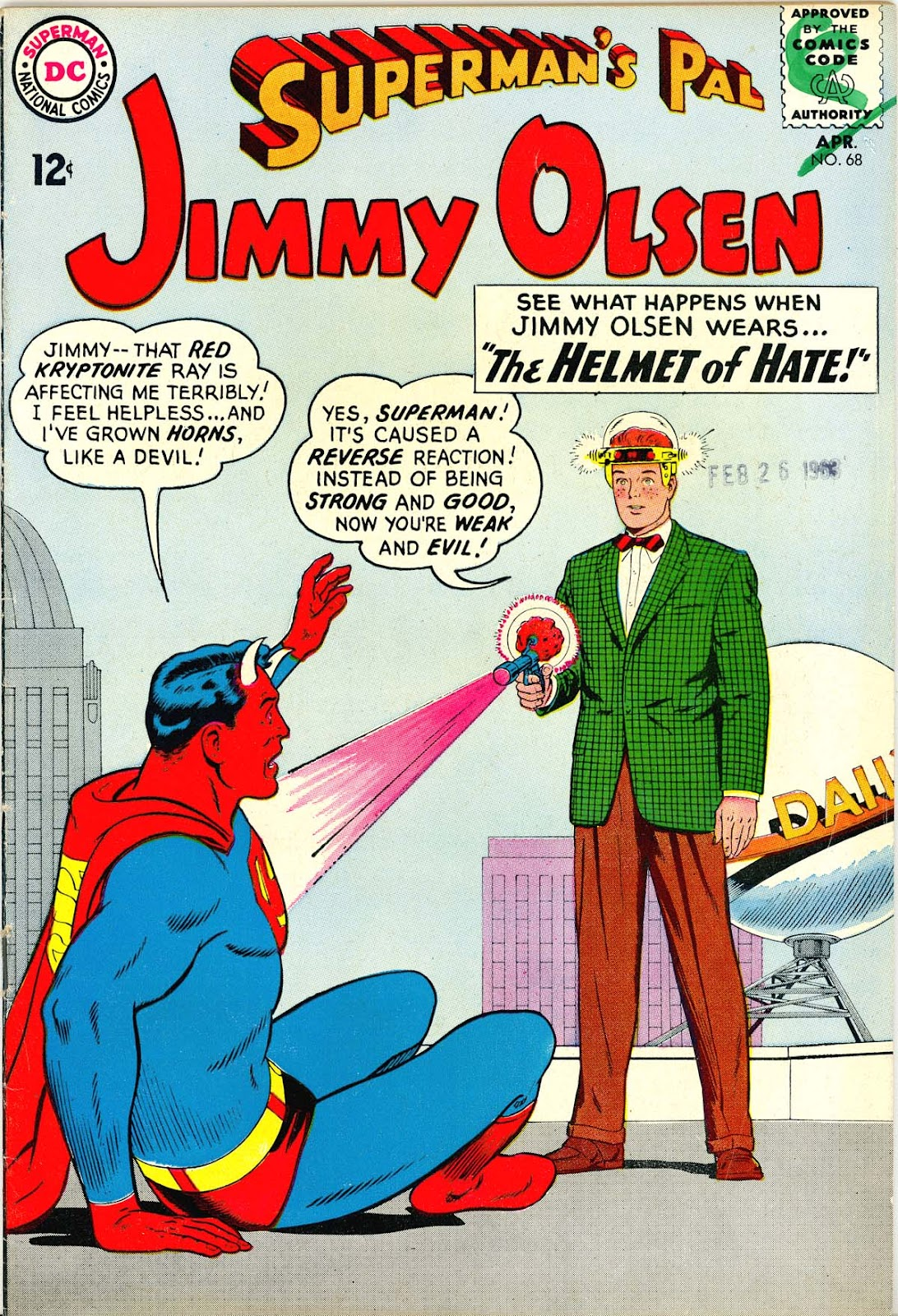 Supermans Pal Jimmy Olsen (1954) 68 Page 1