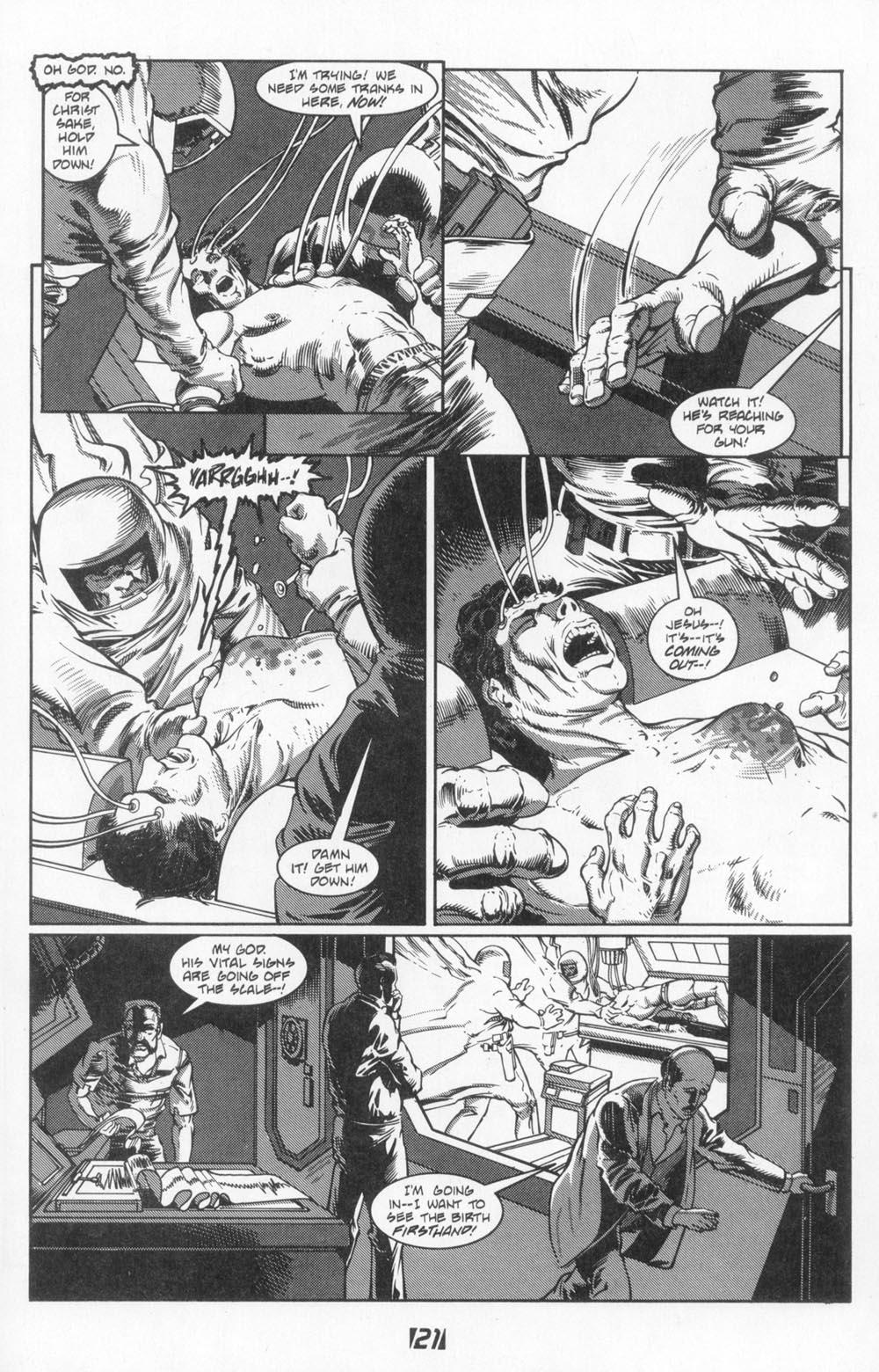 Read online Aliens (1988) comic -  Issue #3 - 25