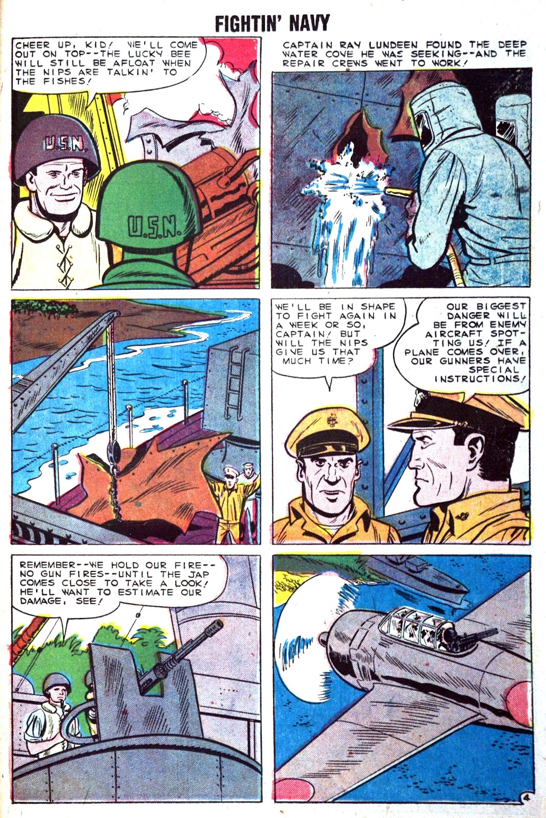 Read online Fightin' Navy comic -  Issue #89 - 23