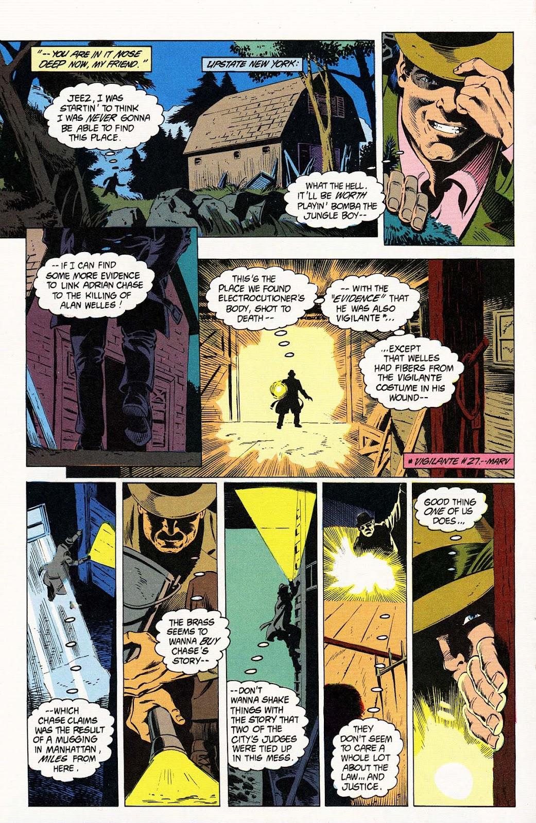 Vigilante (1983) issue 32 - Page 18