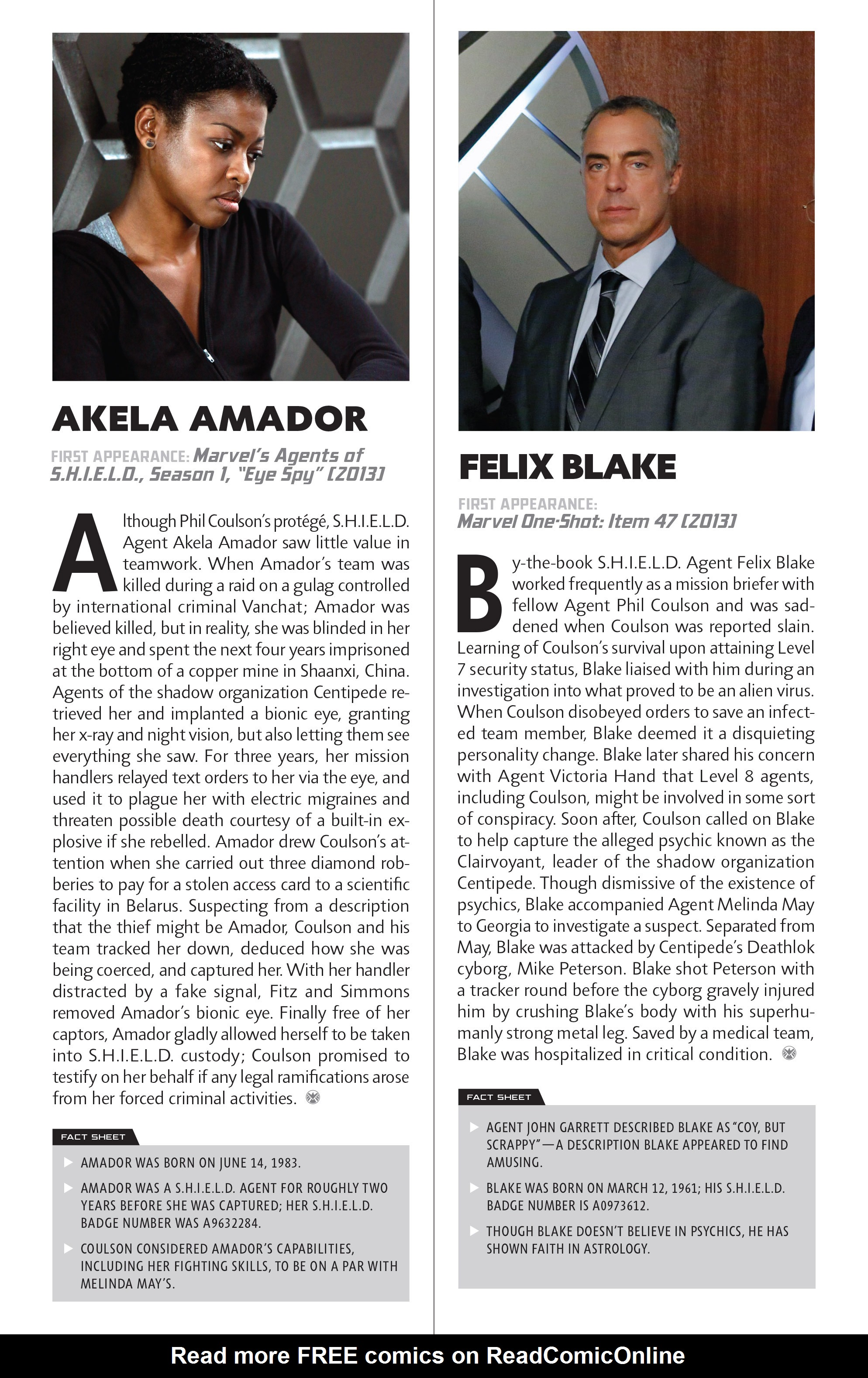 Read online Guidebook to the Marvel Cinematic Universe - Marvel's Agents of S.H.I.E.L.D. Season One comic -  Issue # Full - 15