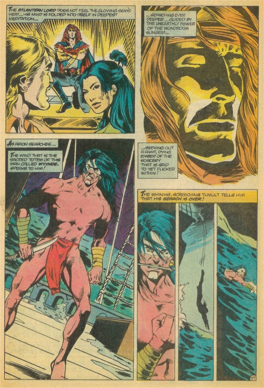 Read online Arion, Lord of Atlantis comic -  Issue #21 - 18