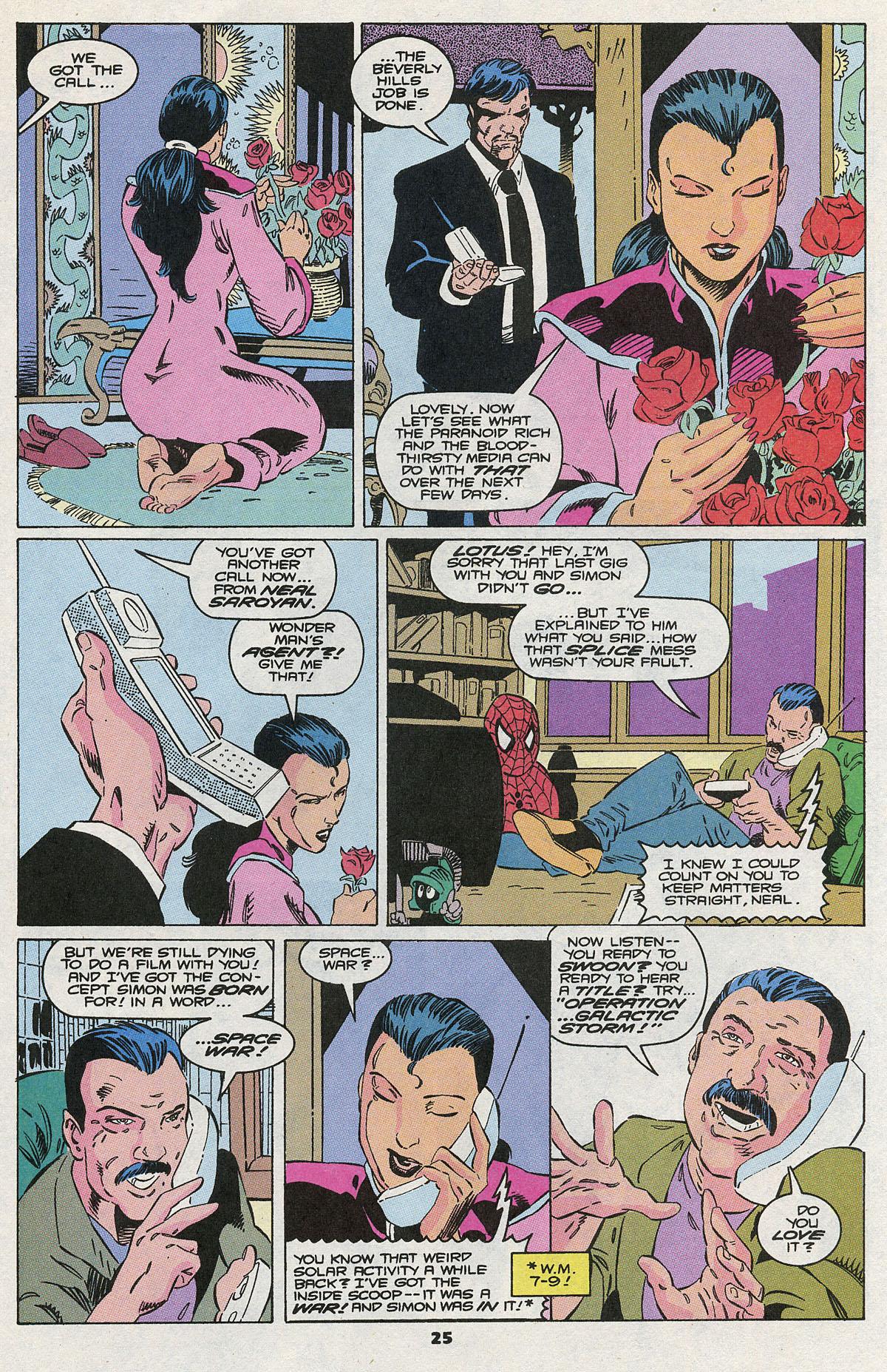 Read online Wonder Man (1991) comic -  Issue #10 - 19