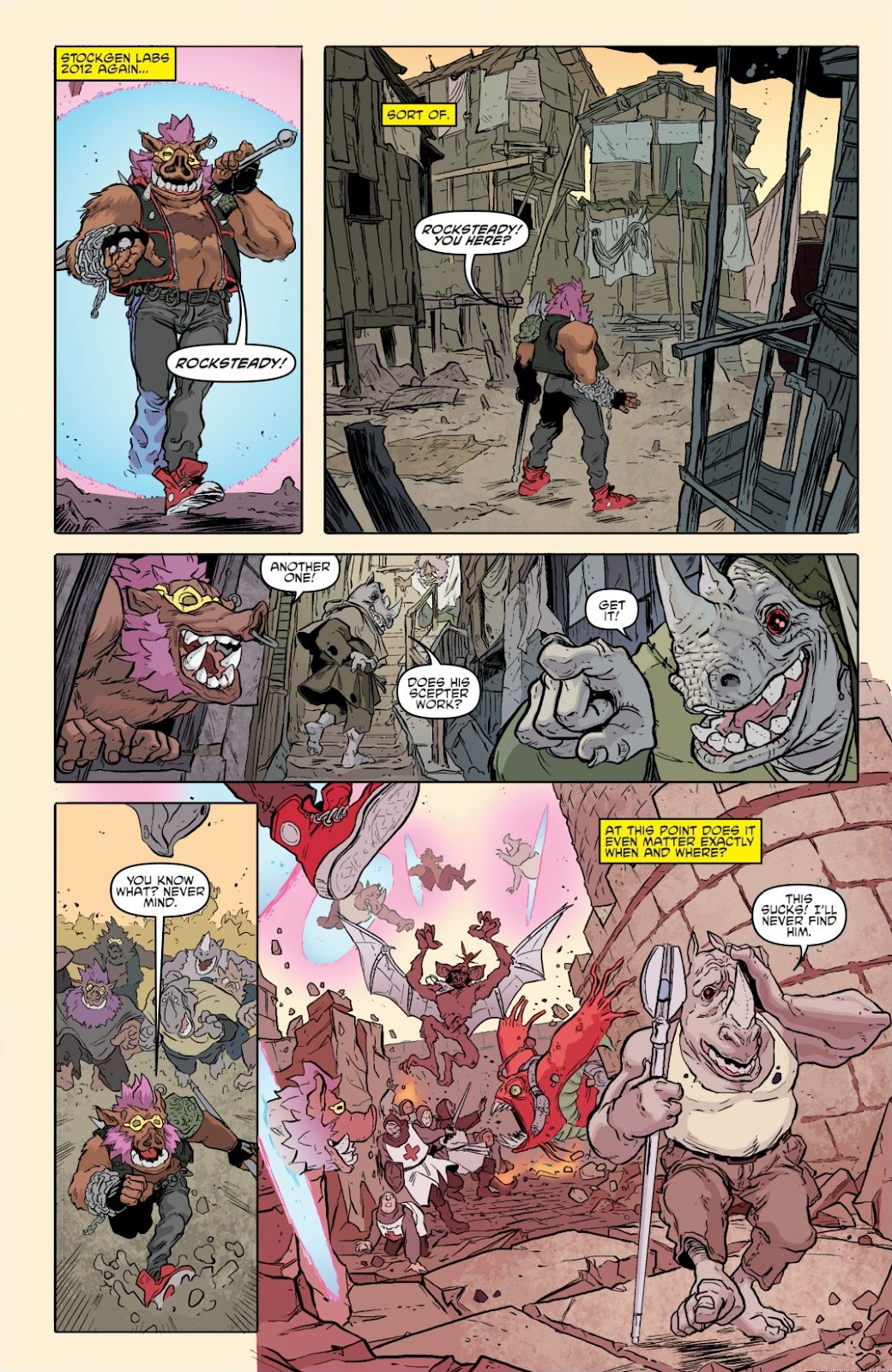 Read online Teenage Mutant Ninja Turtles: The IDW Collection comic -  Issue # TPB 8 (Part 1) - 90