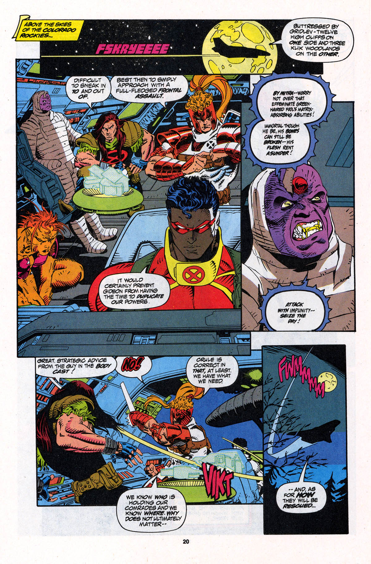 Read online X-Force (1991) comic -  Issue #23 - 20