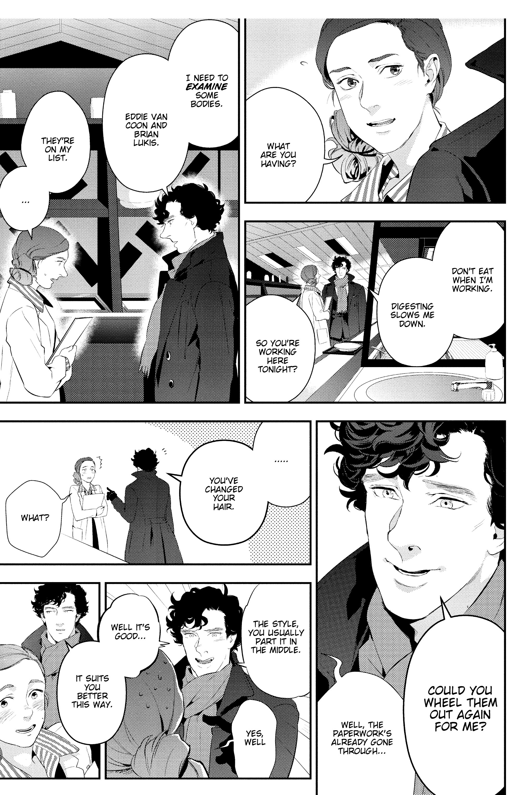 Read online Sherlock: The Blind Banker comic -  Issue #4 - 34
