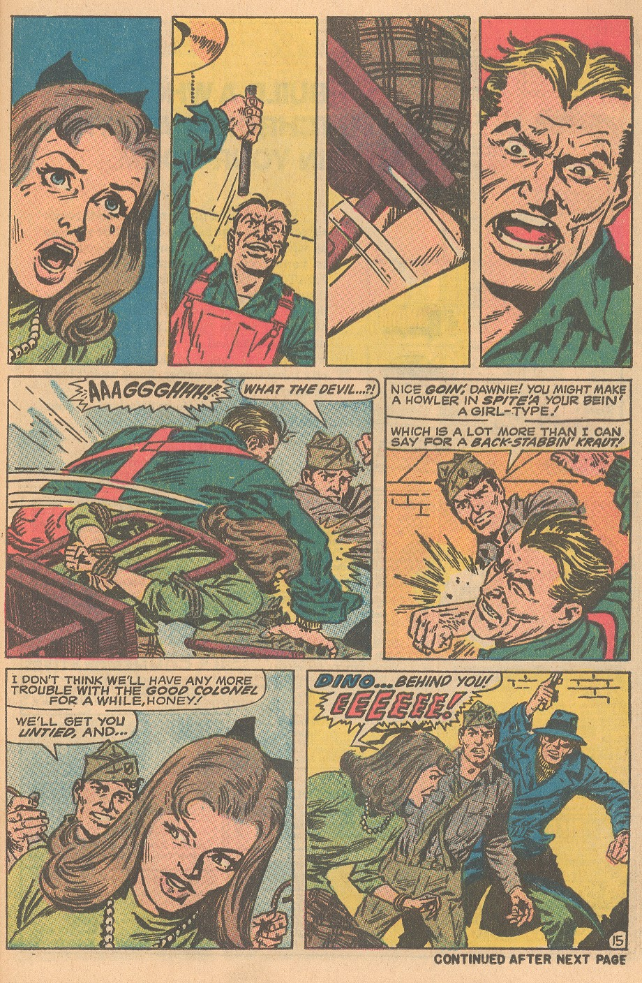 Read online Sgt. Fury comic -  Issue #69 - 21