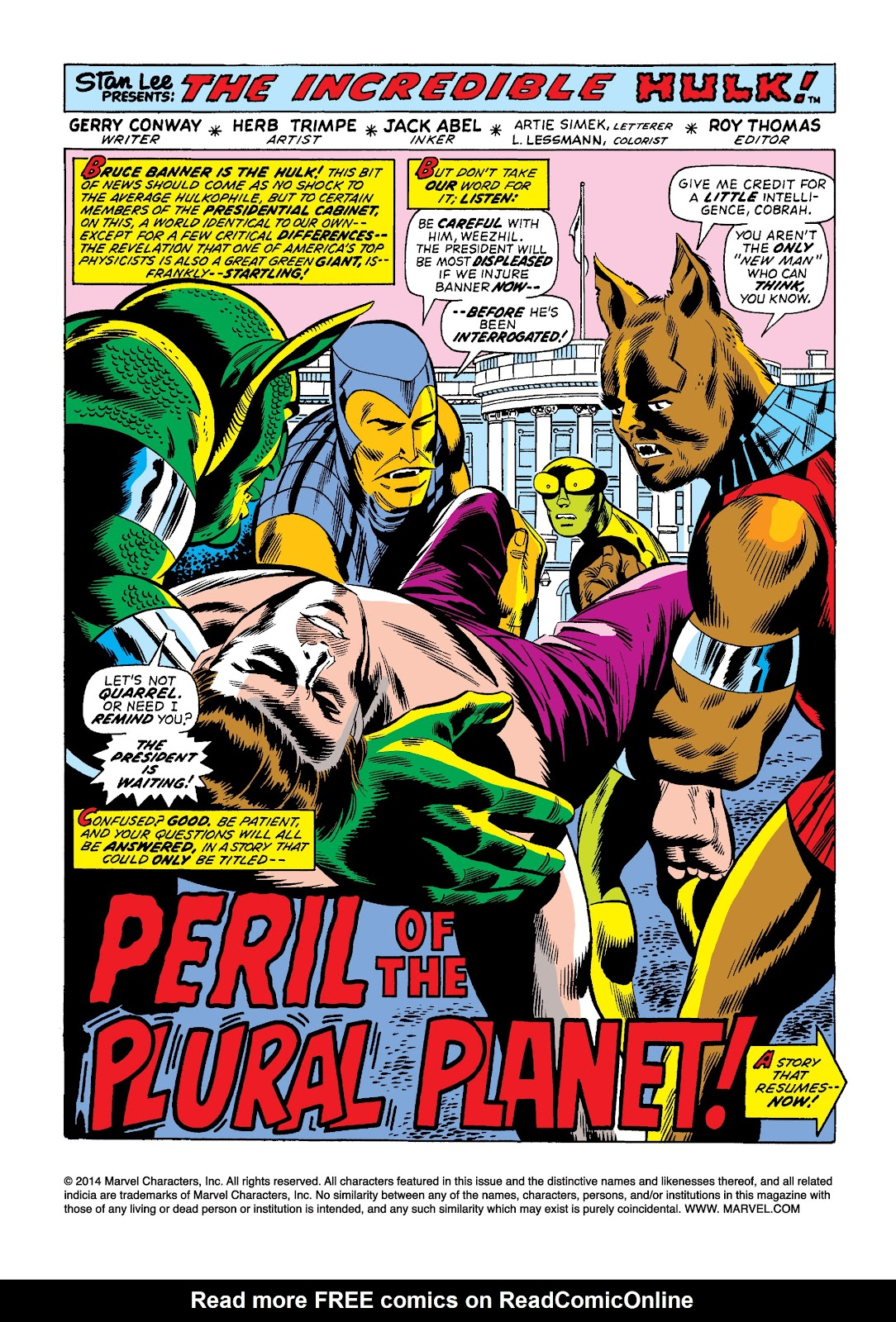Read online Marvel Masterworks: The Incredible Hulk comic -  Issue # TPB 10 (Part 2) - 28