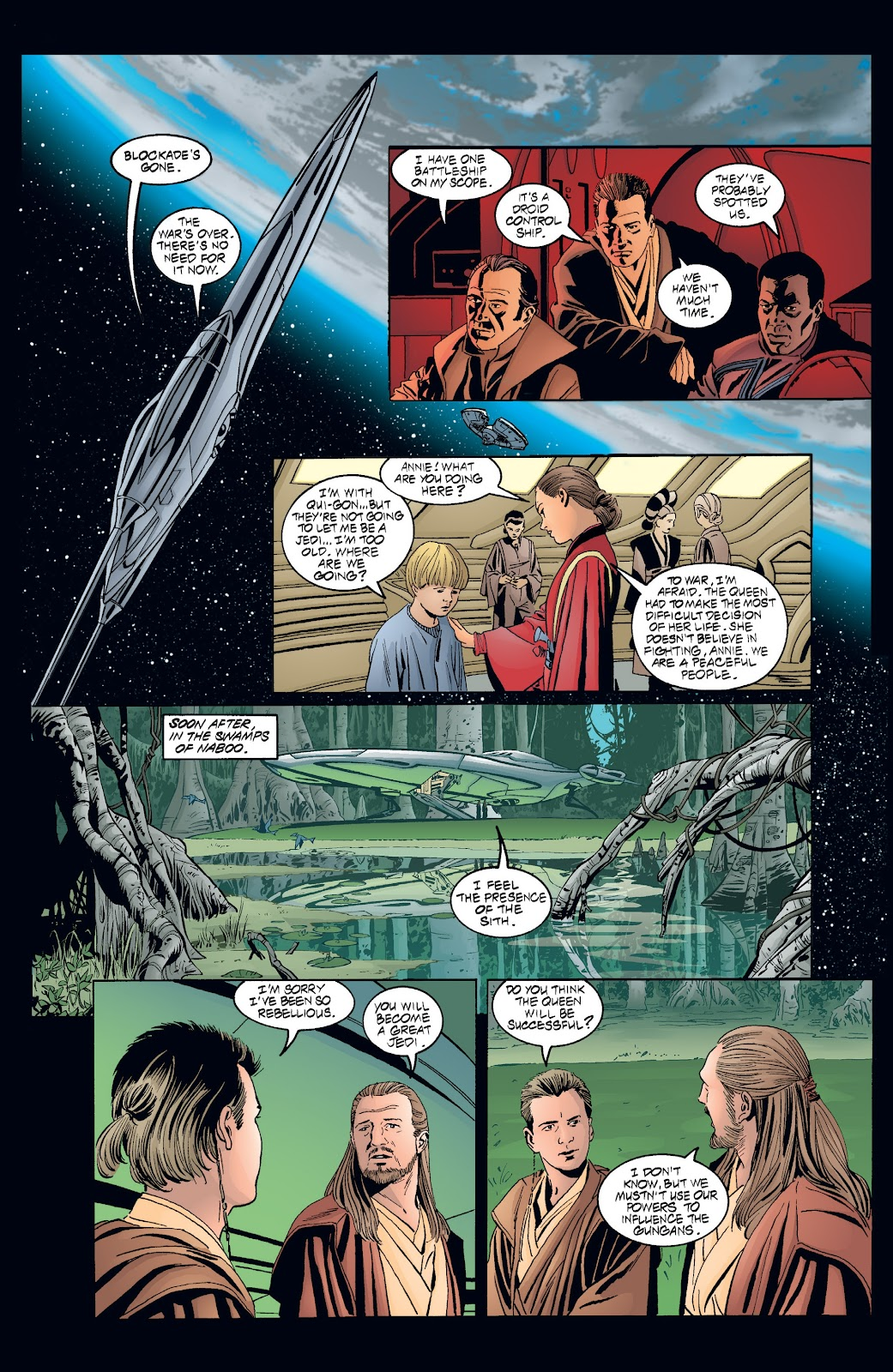 Read online Star Wars Legends: Rise of the Sith - Epic Collection comic -  Issue # TPB 2 (Part 4) - 10