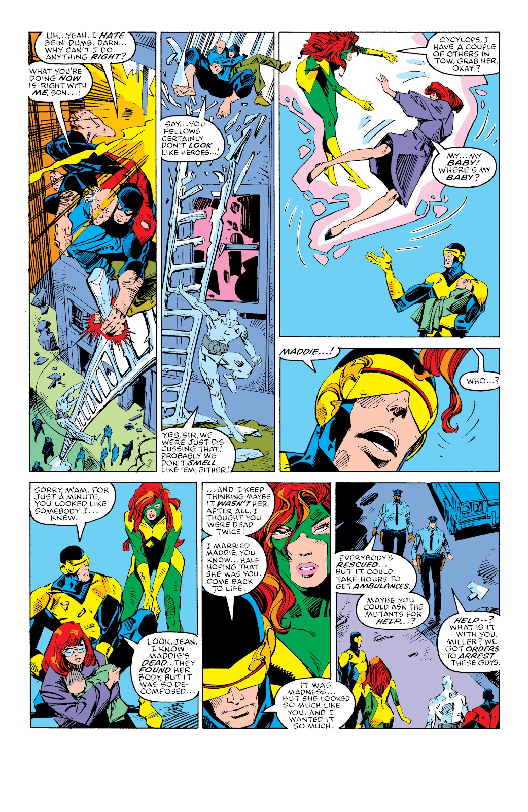 Read online X-Men Milestones: Fall of the Mutants comic -  Issue # TPB (Part 3) - 55