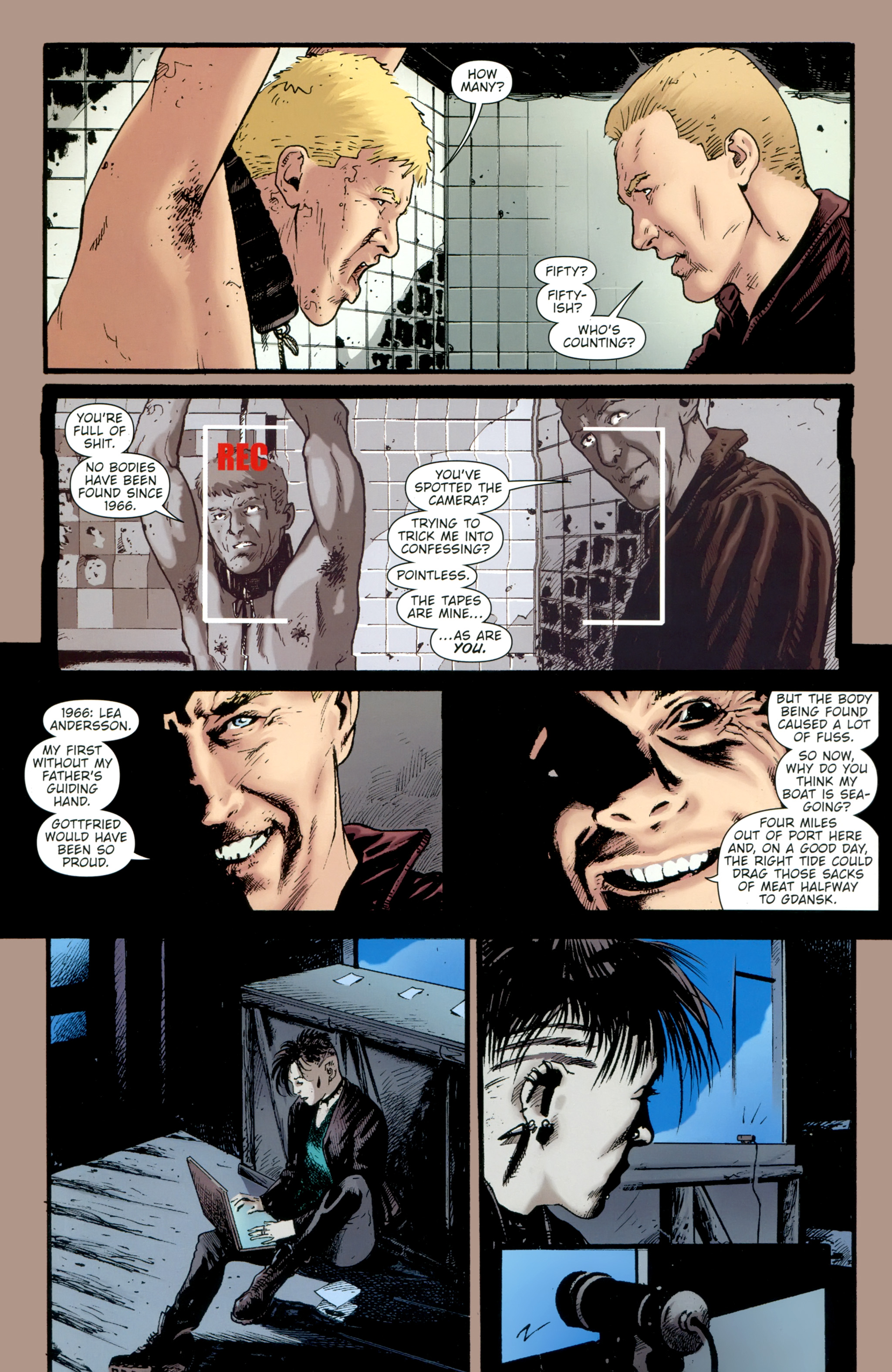Read online The Girl With the Dragon Tattoo comic -  Issue # TPB 2 - 94