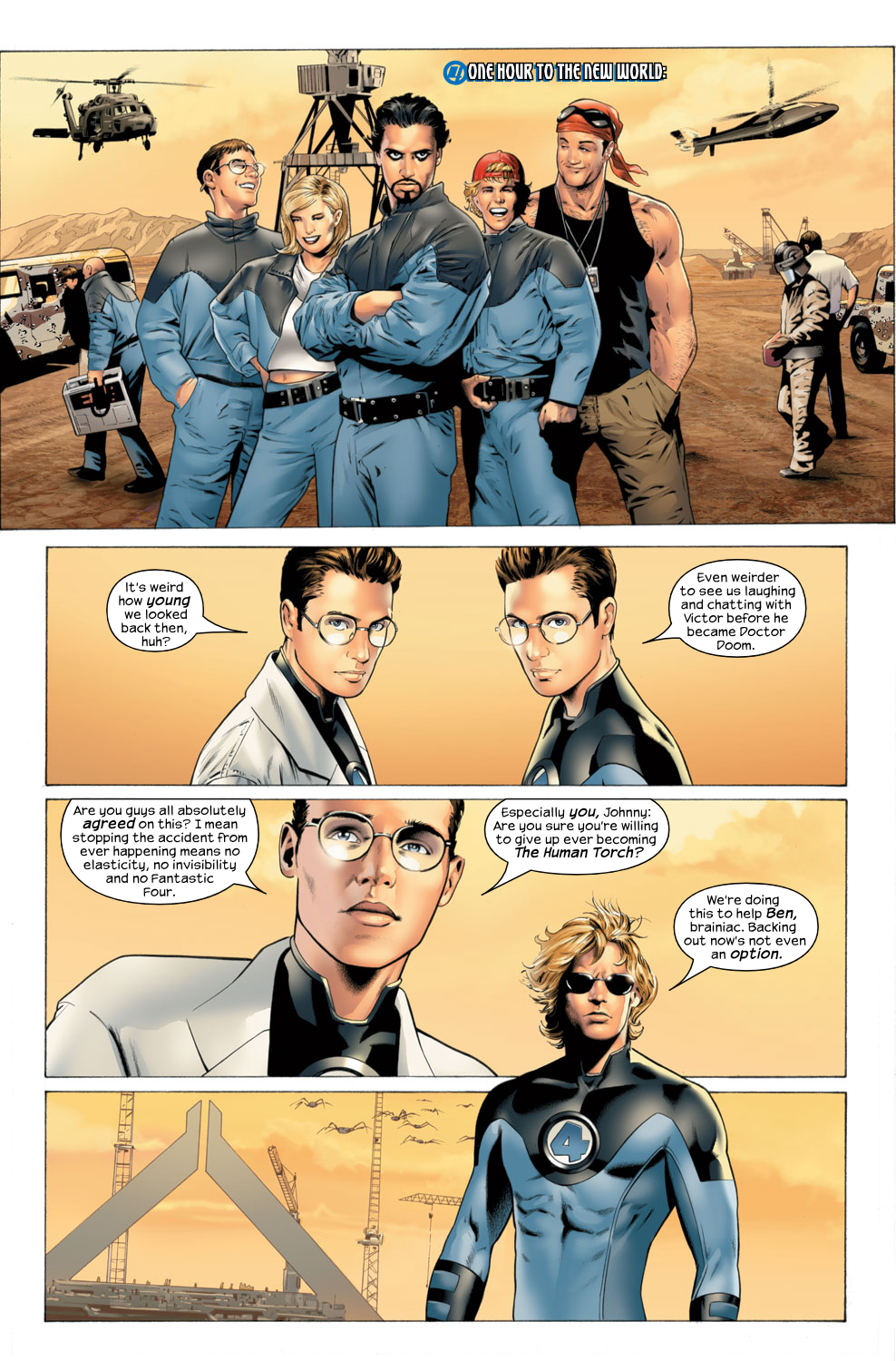 Read online Ultimate Fantastic Four (2004) comic -  Issue #27 - 20