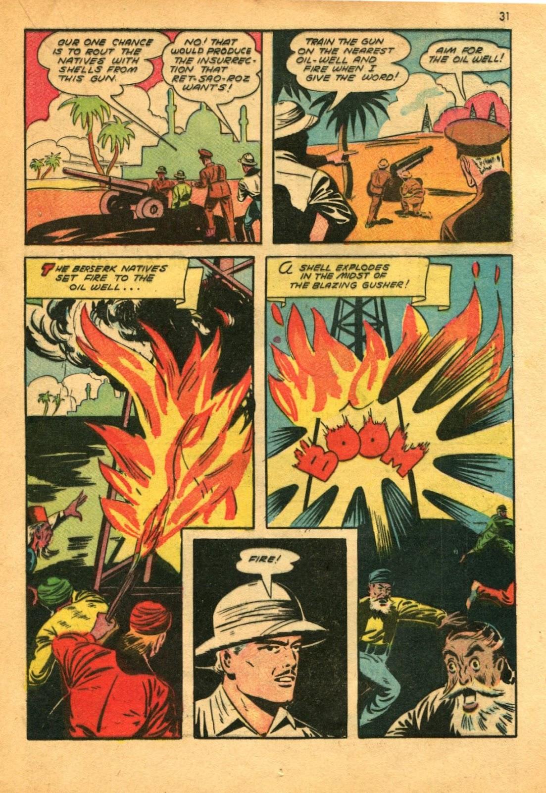 Read online Super-Magician Comics comic -  Issue #11 - 31
