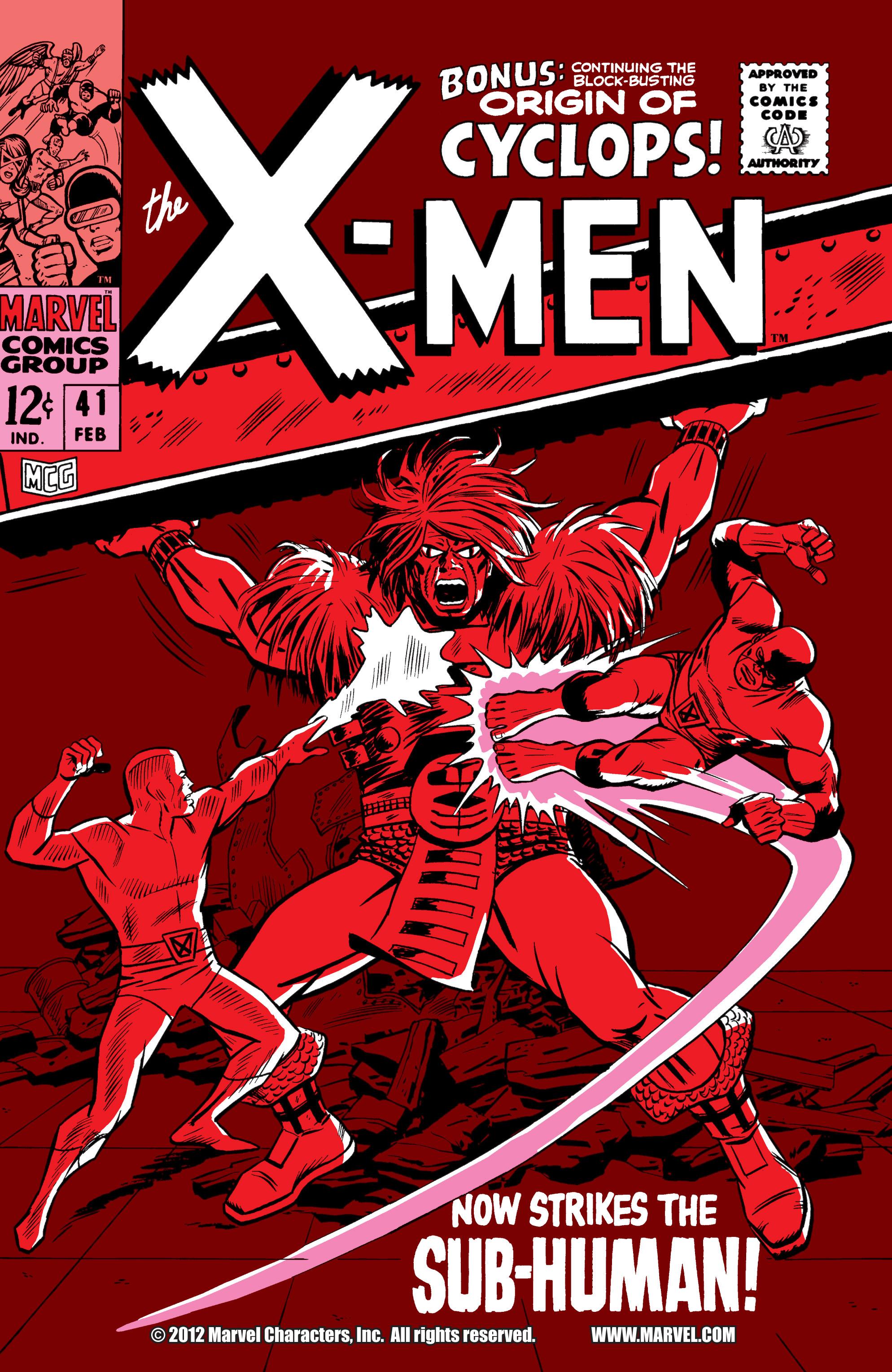Uncanny X-Men (1963) 41 Page 1