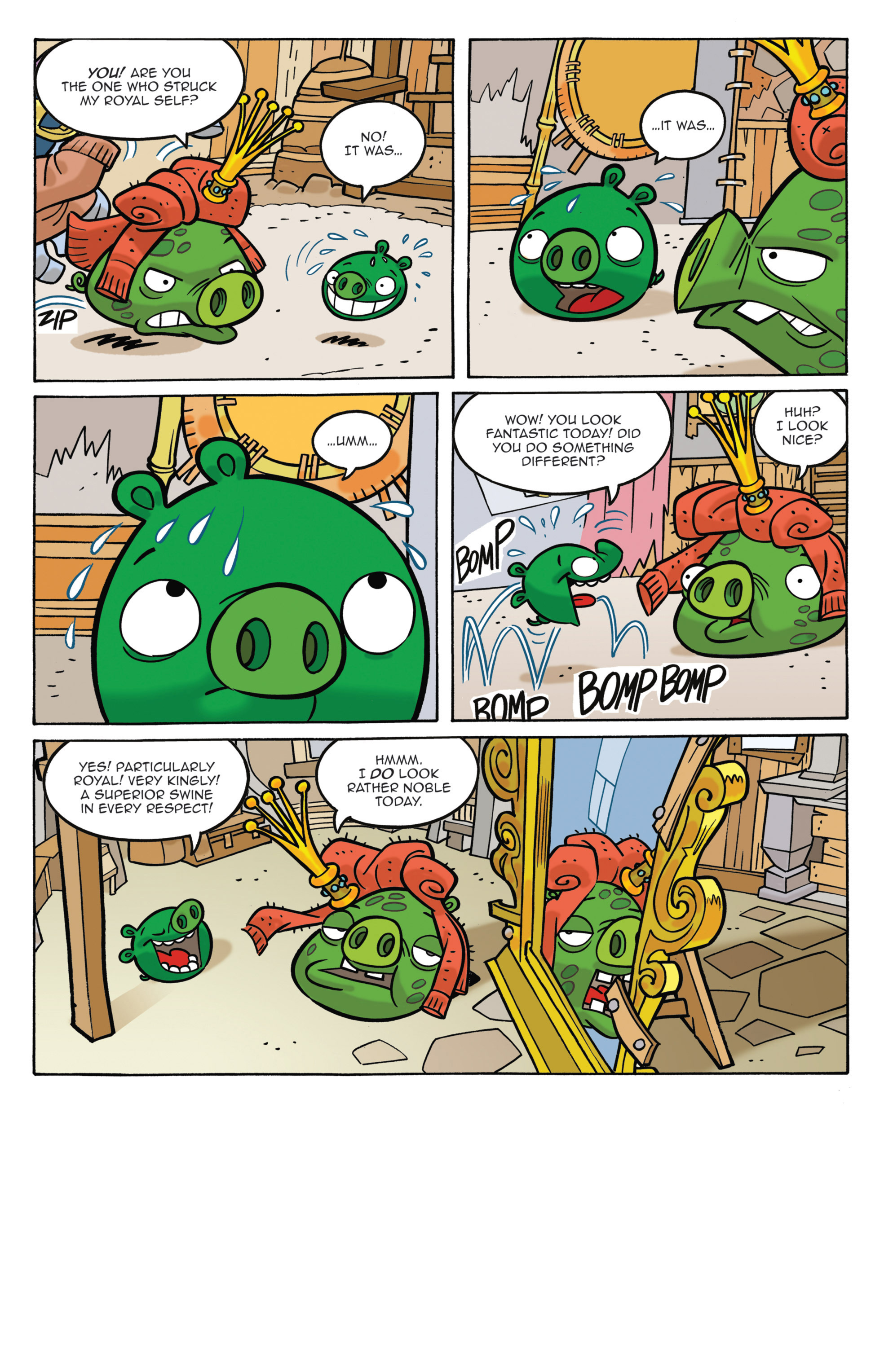 Read online Angry Birds Comics (2014) comic -  Issue #3 - 6