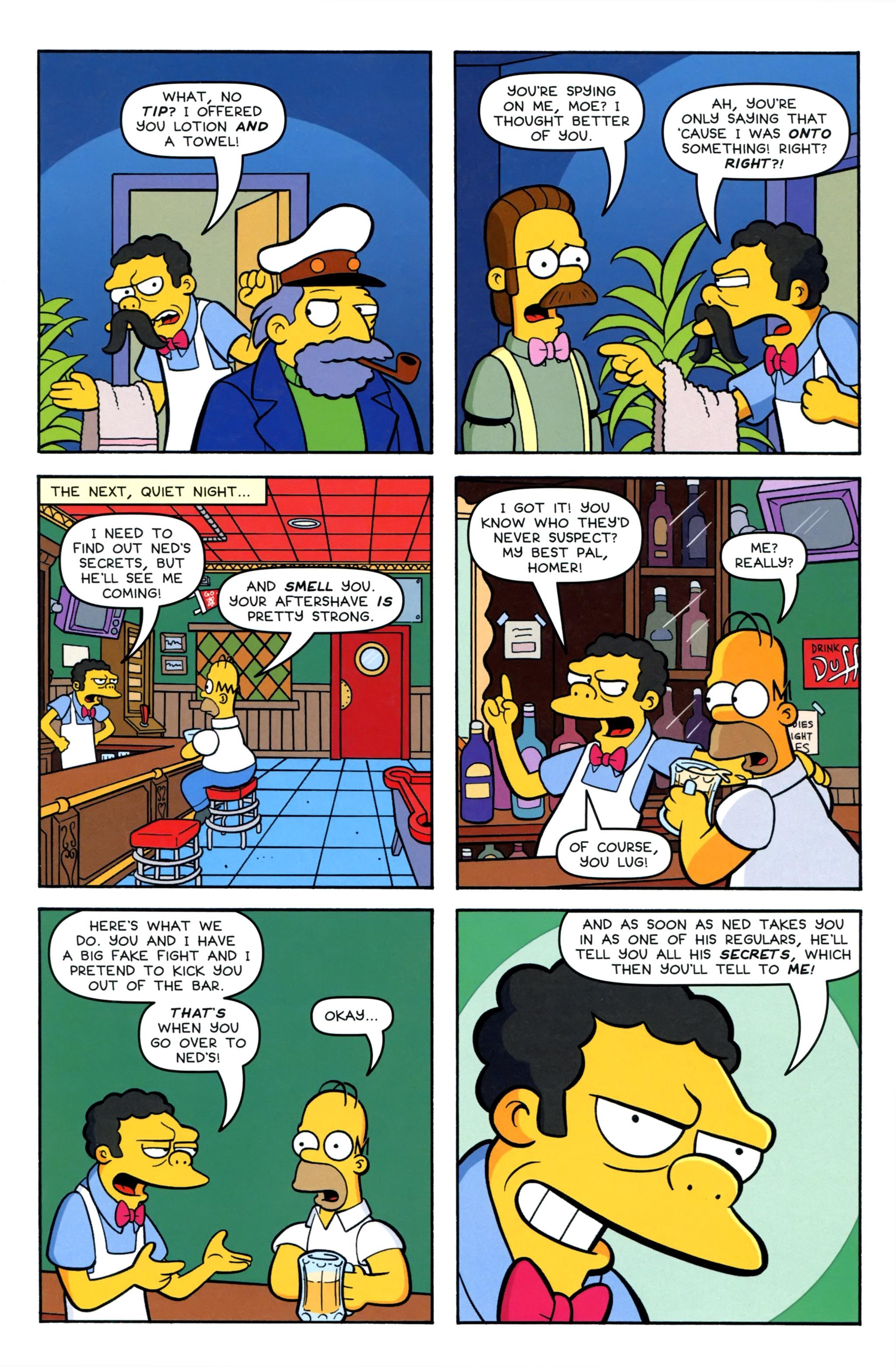 Read online Simpsons Comics comic -  Issue #220 - 11