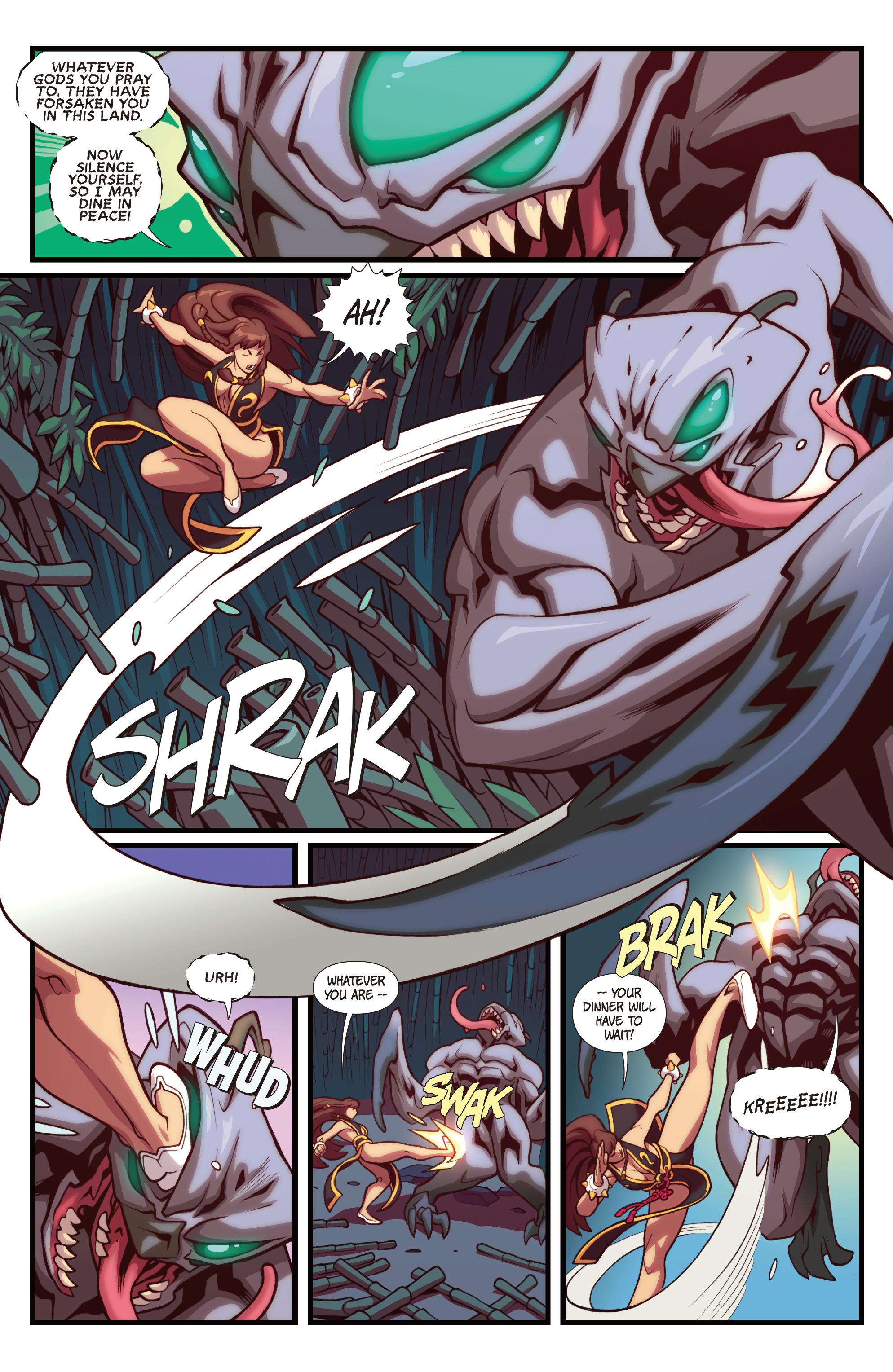 Read online Street Fighter VS Darkstalkers comic -  Issue #1 - 5