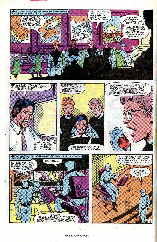 Read online Captain America (1968) comic -  Issue # _Annual 7 - 10