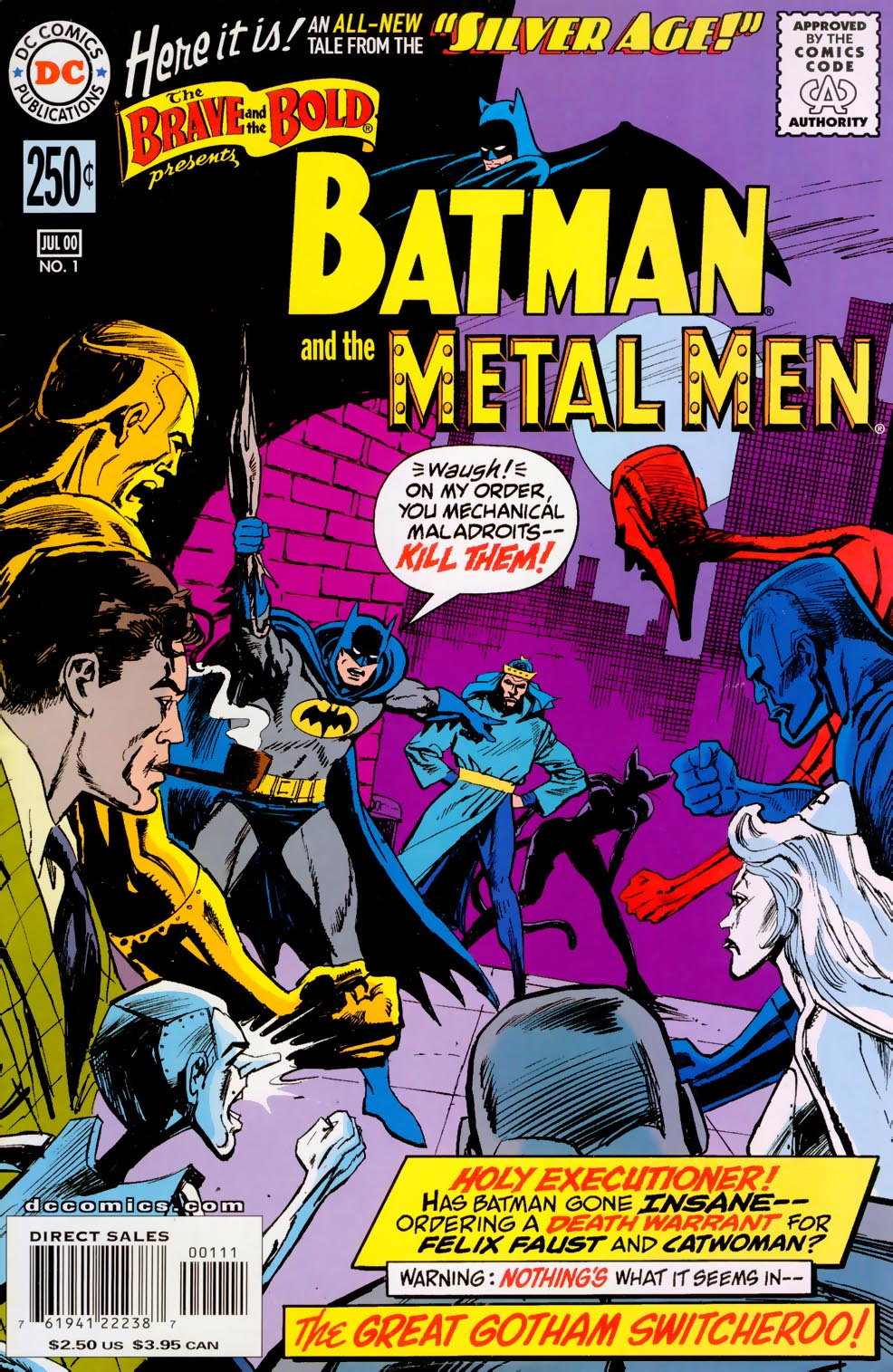 Read online Silver Age: The Brave and the Bold comic -  Issue # Full - 1