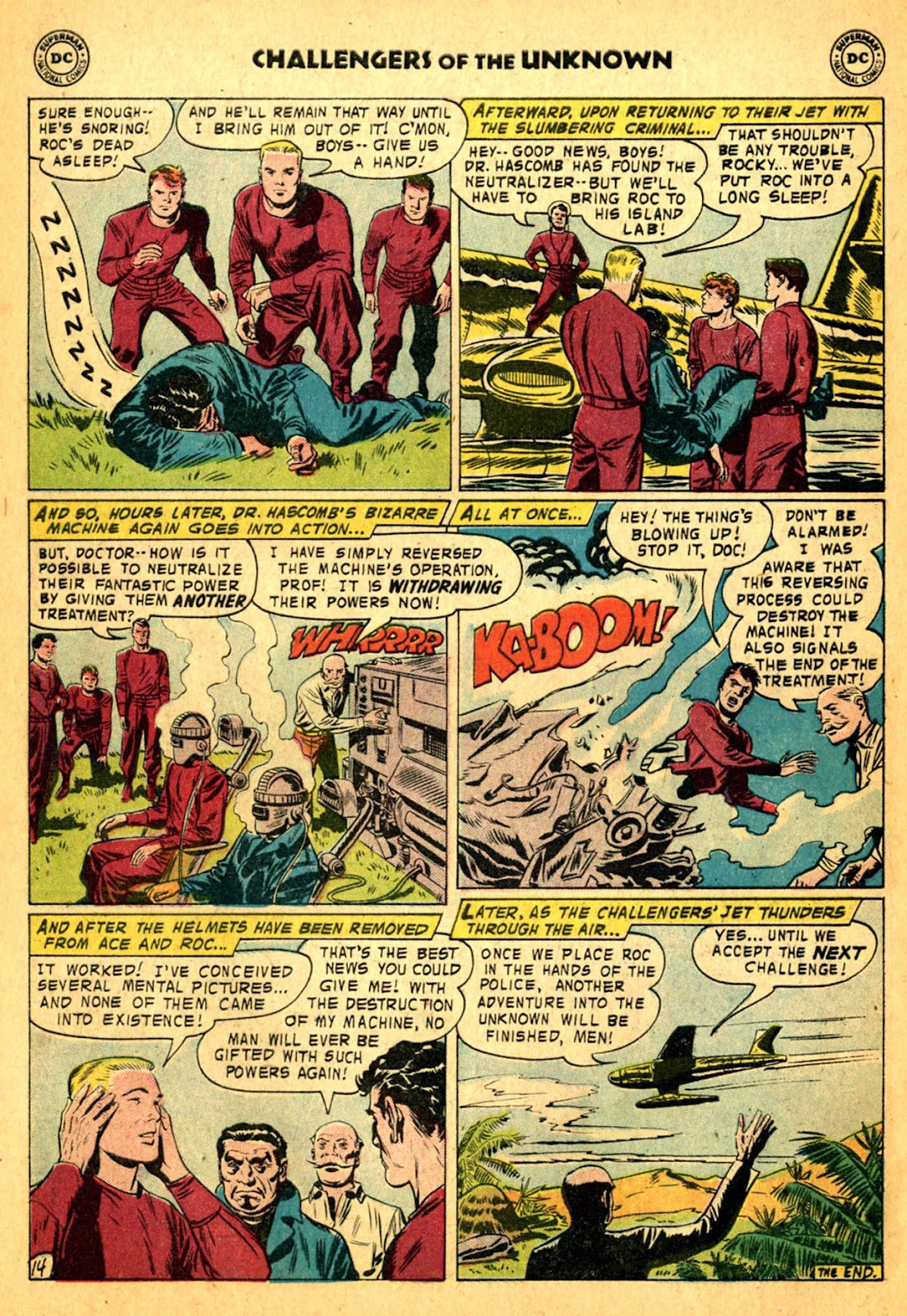 Challengers of the Unknown (1958) issue 2 - Page 30