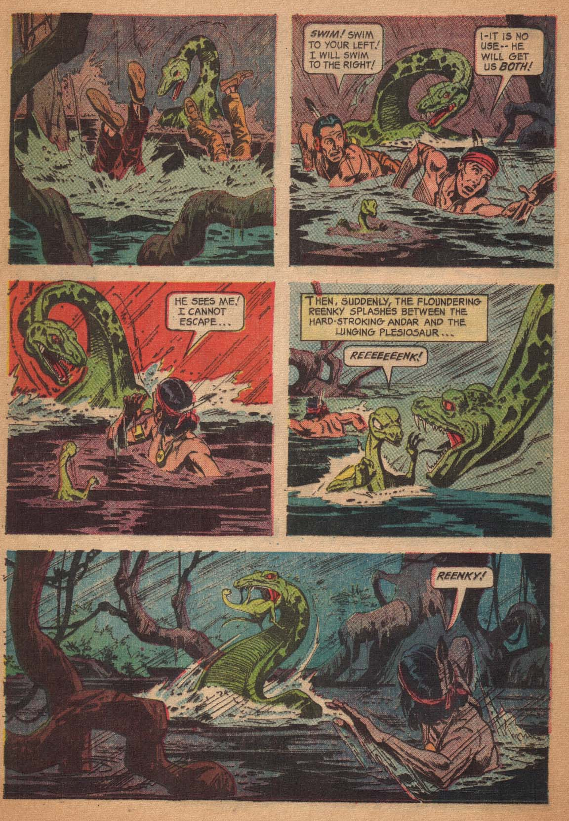 Read online Turok, Son of Stone comic -  Issue #47 - 16
