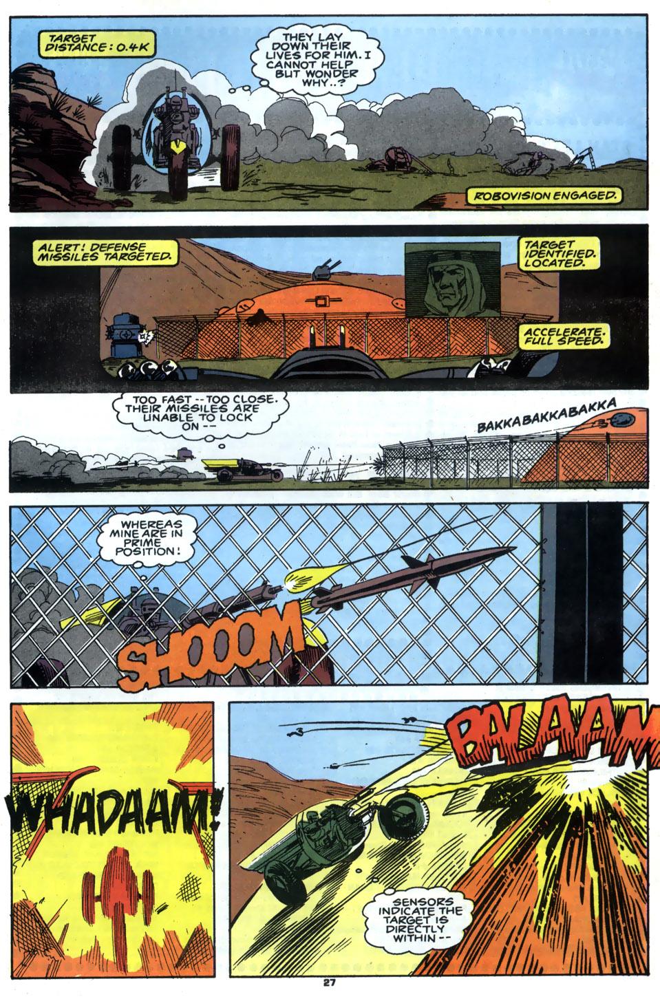 Read online Robocop (1990) comic -  Issue #5 - 22