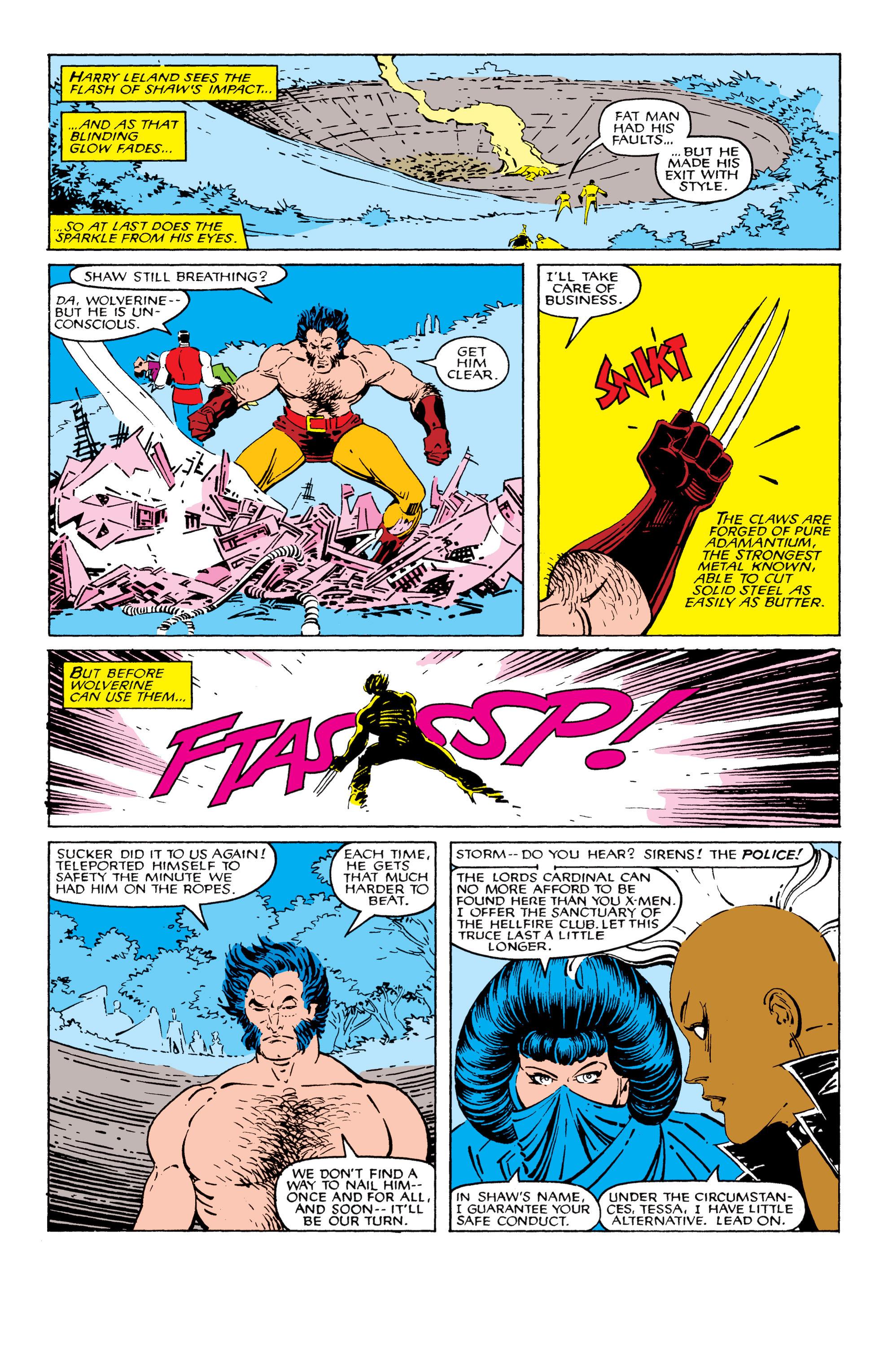 Read online Uncanny X-Men (1963) comic -  Issue #209 - 22