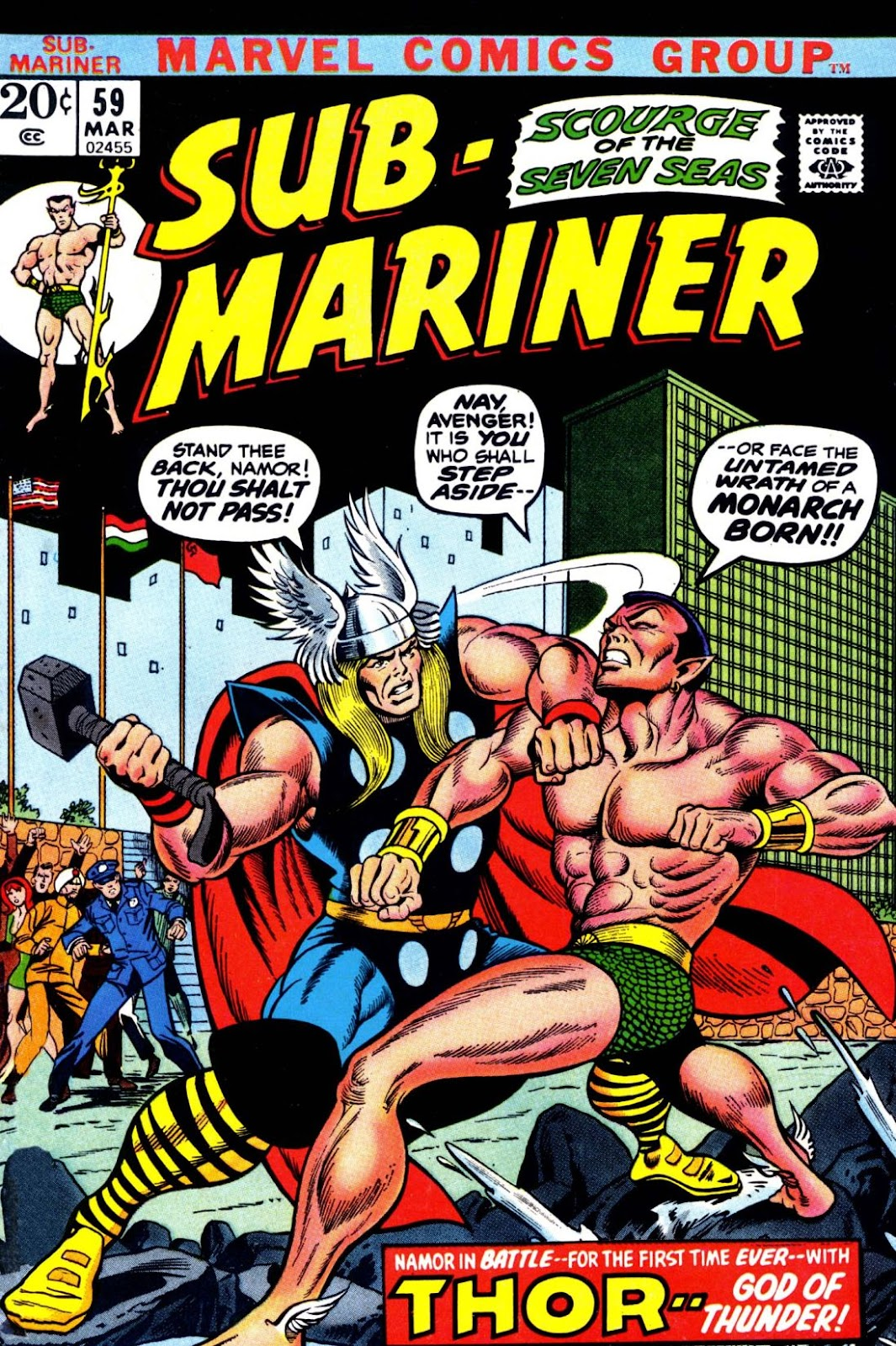 The Sub-Mariner 59 Page 1