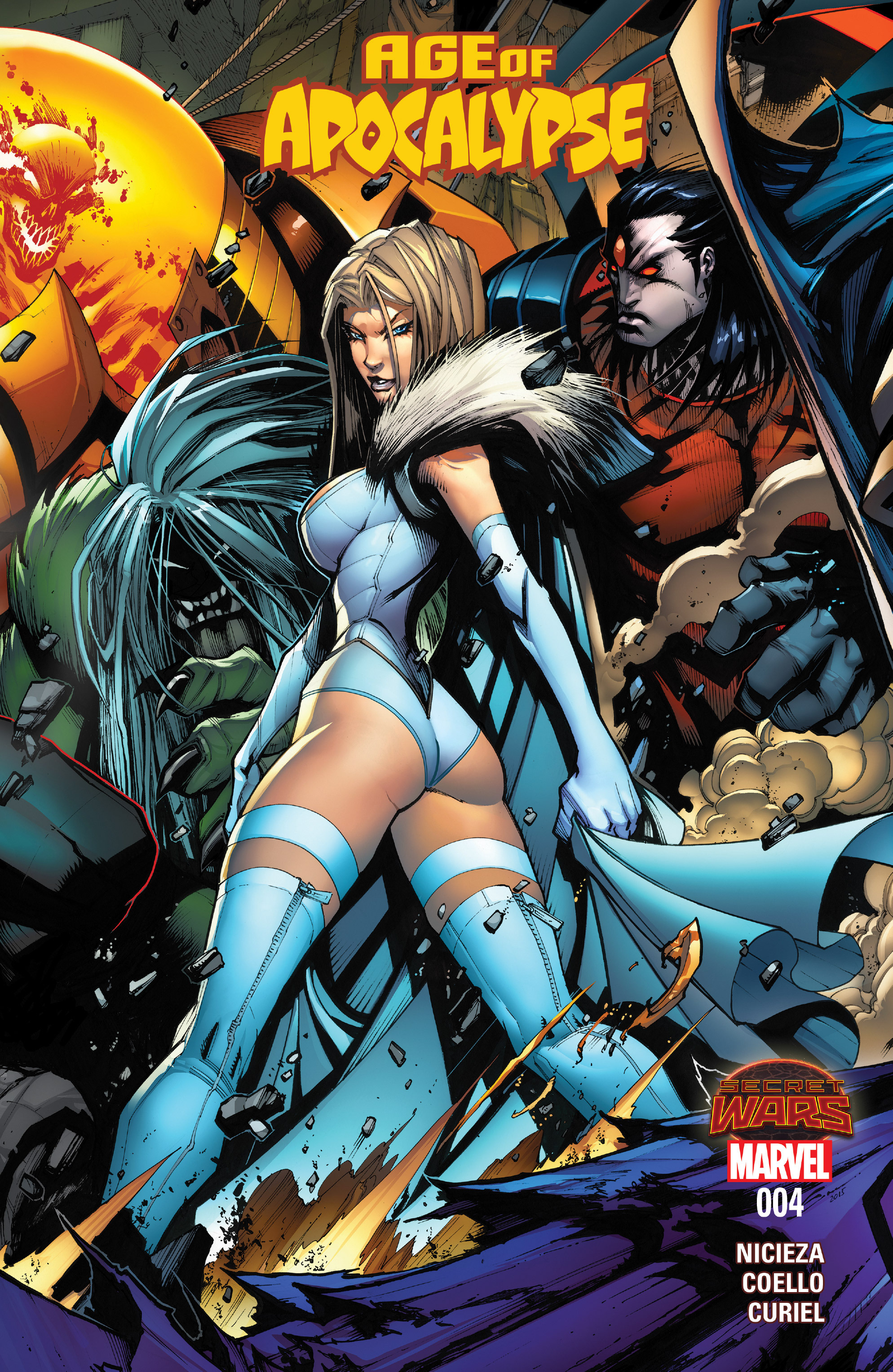 Age of Apocalypse (2015) 4 Page 1
