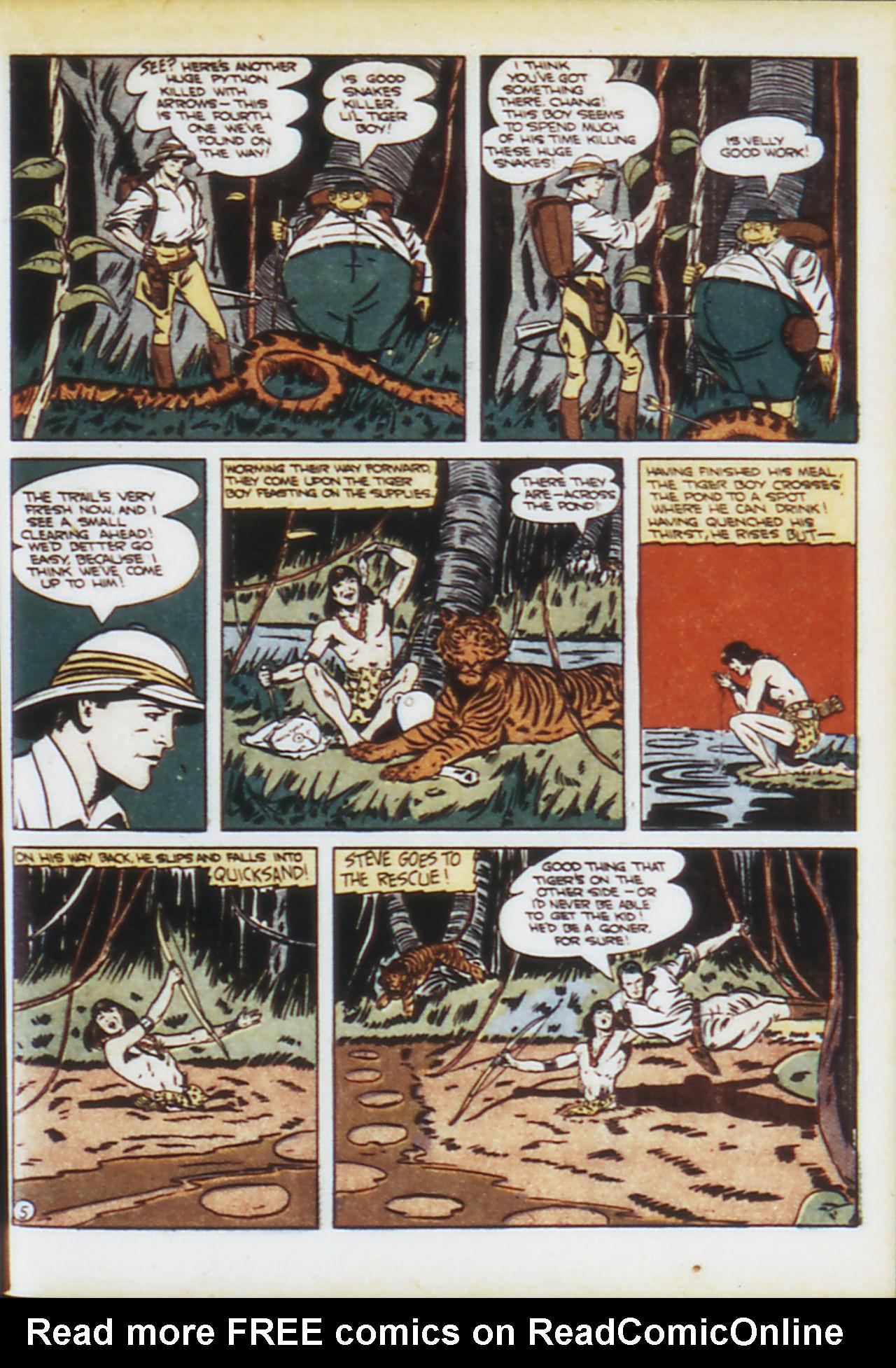 Read online Adventure Comics (1938) comic -  Issue #74 - 30