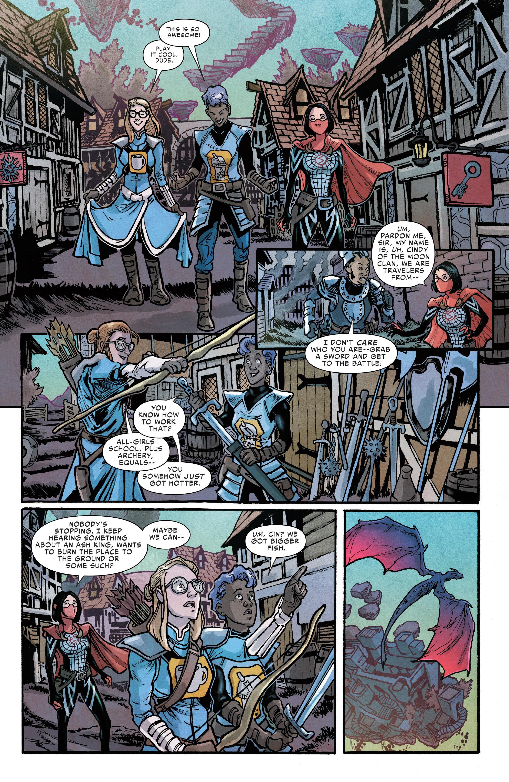Read online Silk (2016) comic -  Issue #12 - 13