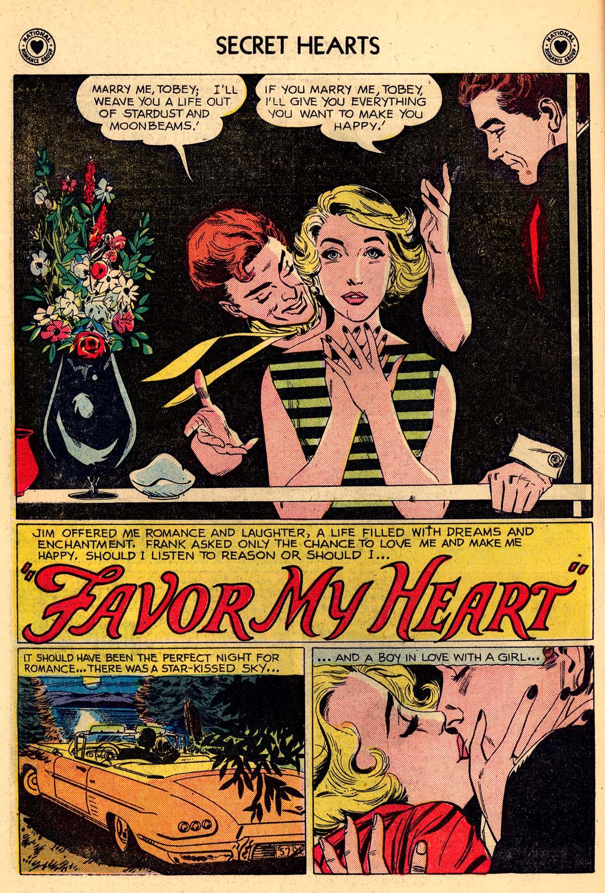 Read online Secret Hearts comic -  Issue #59 - 18