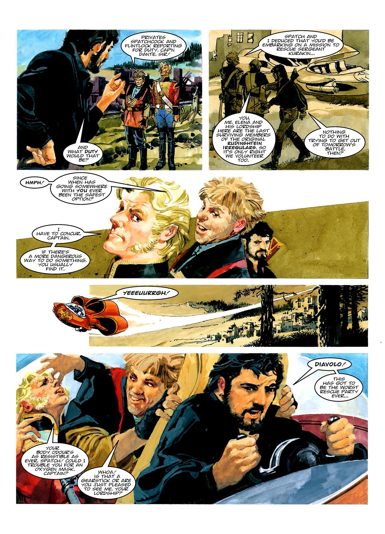 Read online Nikolai Dante comic -  Issue # TPB 10 - 49